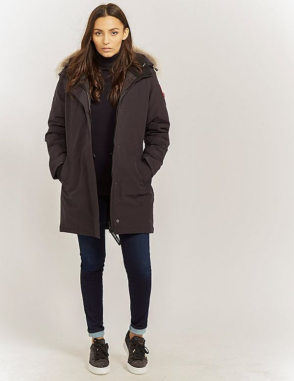 canada goose parka outfit