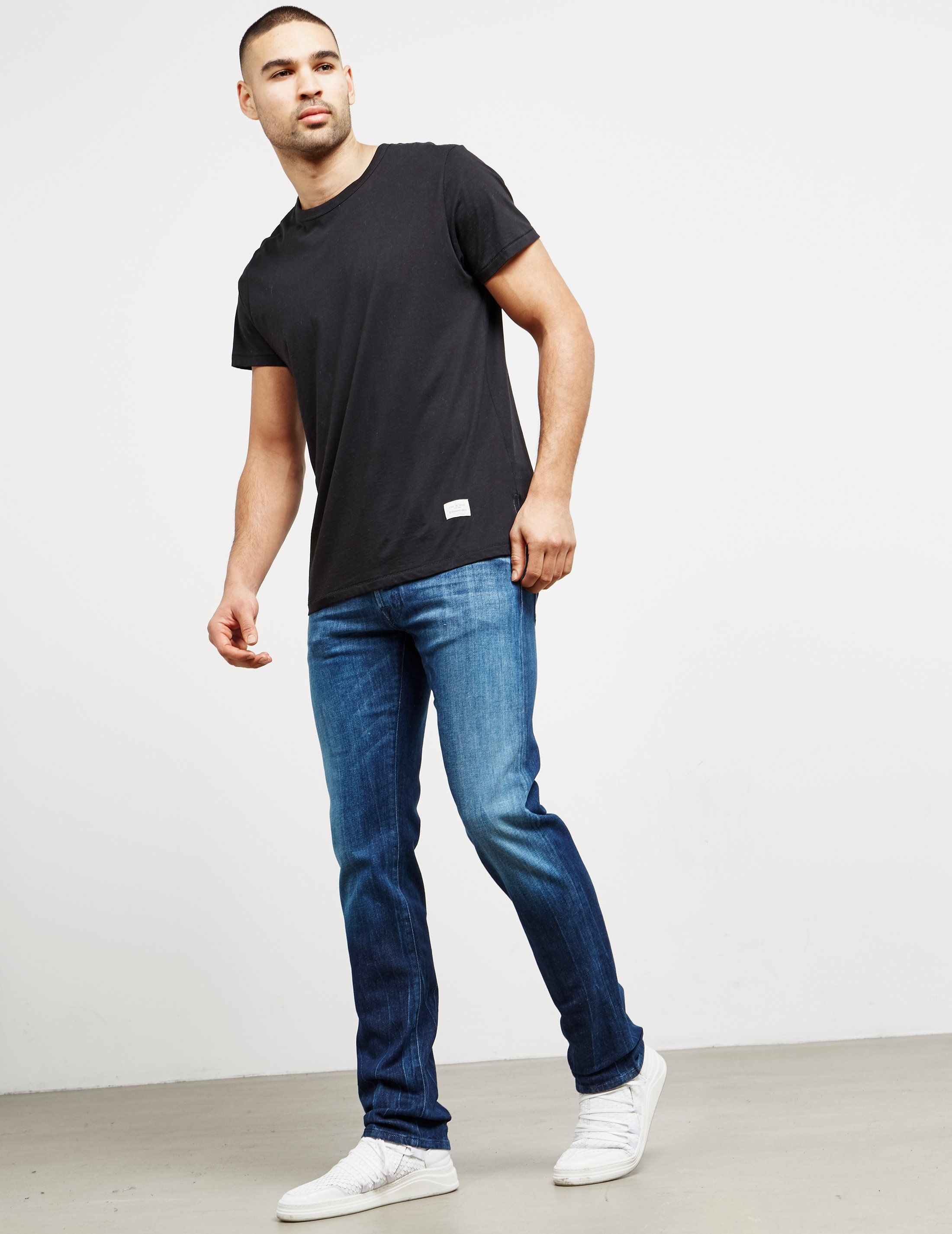 Jacob Cohen Purple Mid Wash Jeans