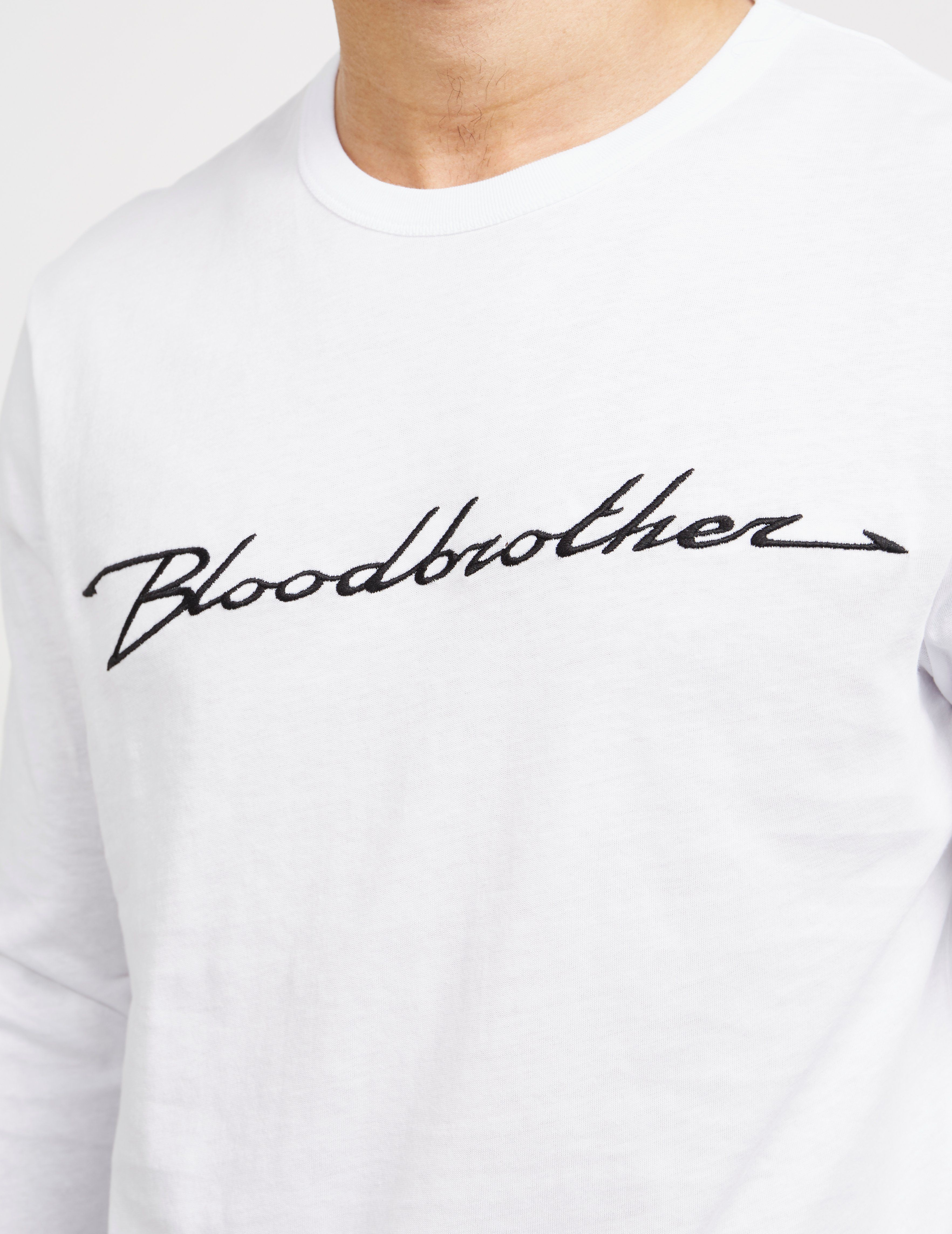 Blood Brother Plug In Long Sleeve T-Shirt