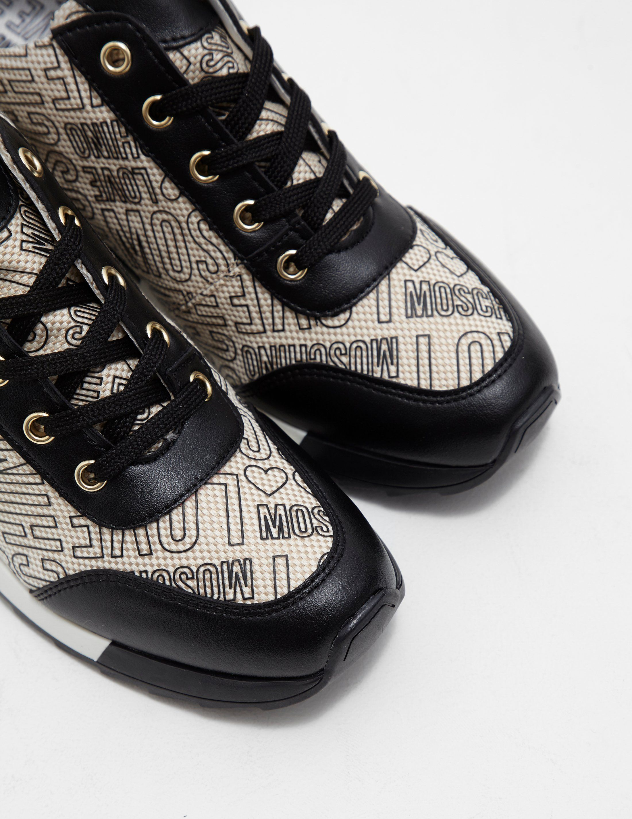 Love Moschino Wedge Trainers