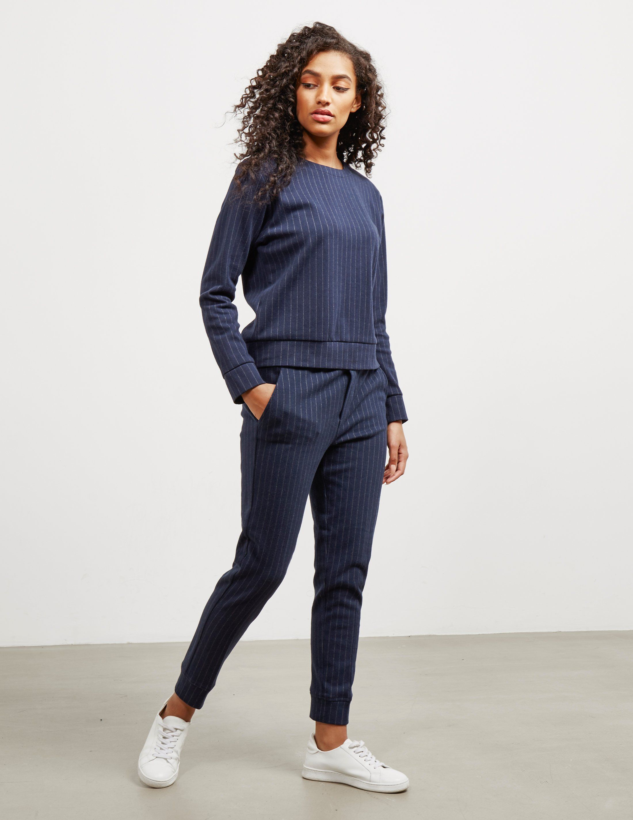 Polo Ralph Lauren Cropped Pinstripe Joggers - Online Exclusive