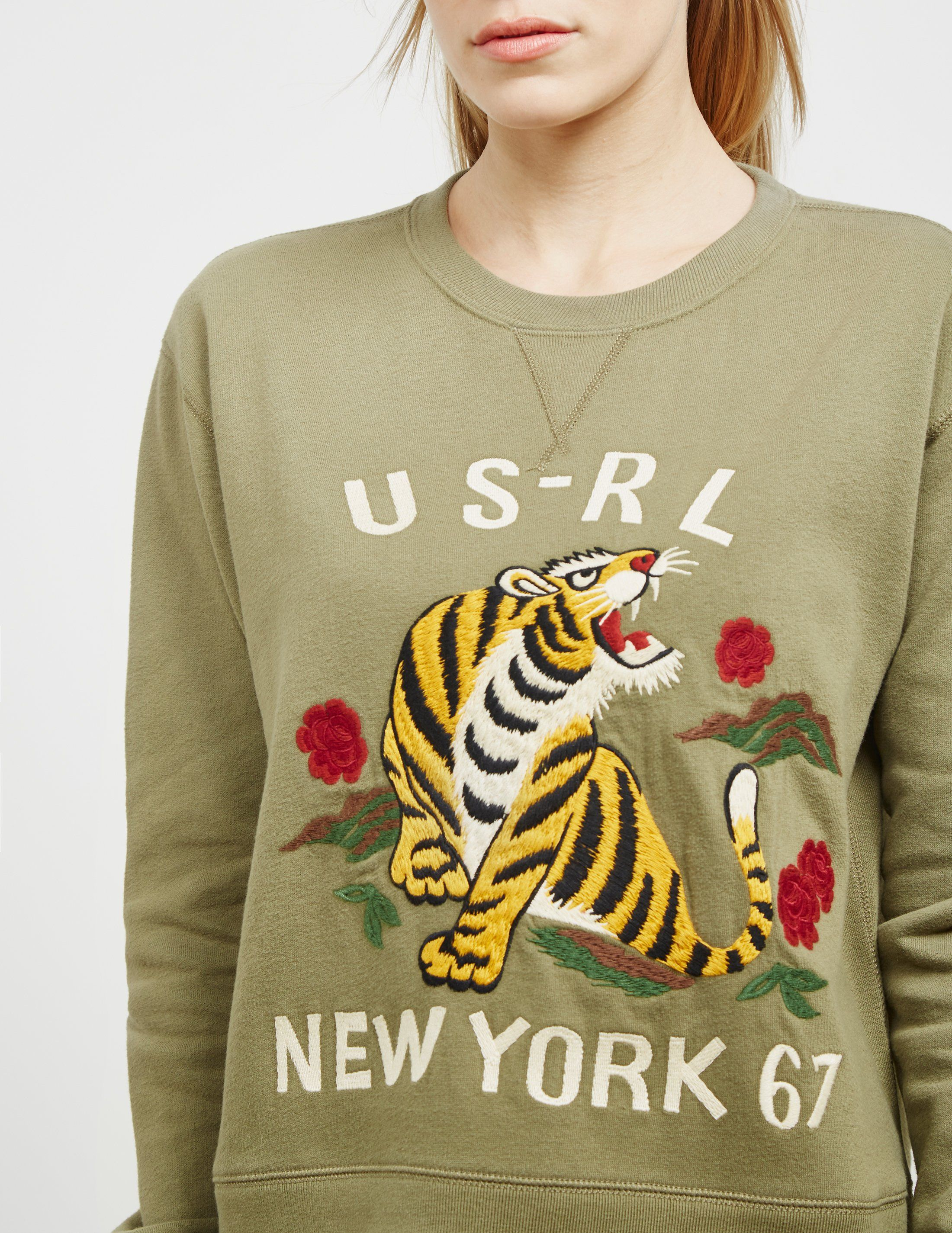 Polo Ralph Lauren Tiger Sweatshirt - Online Exclusive