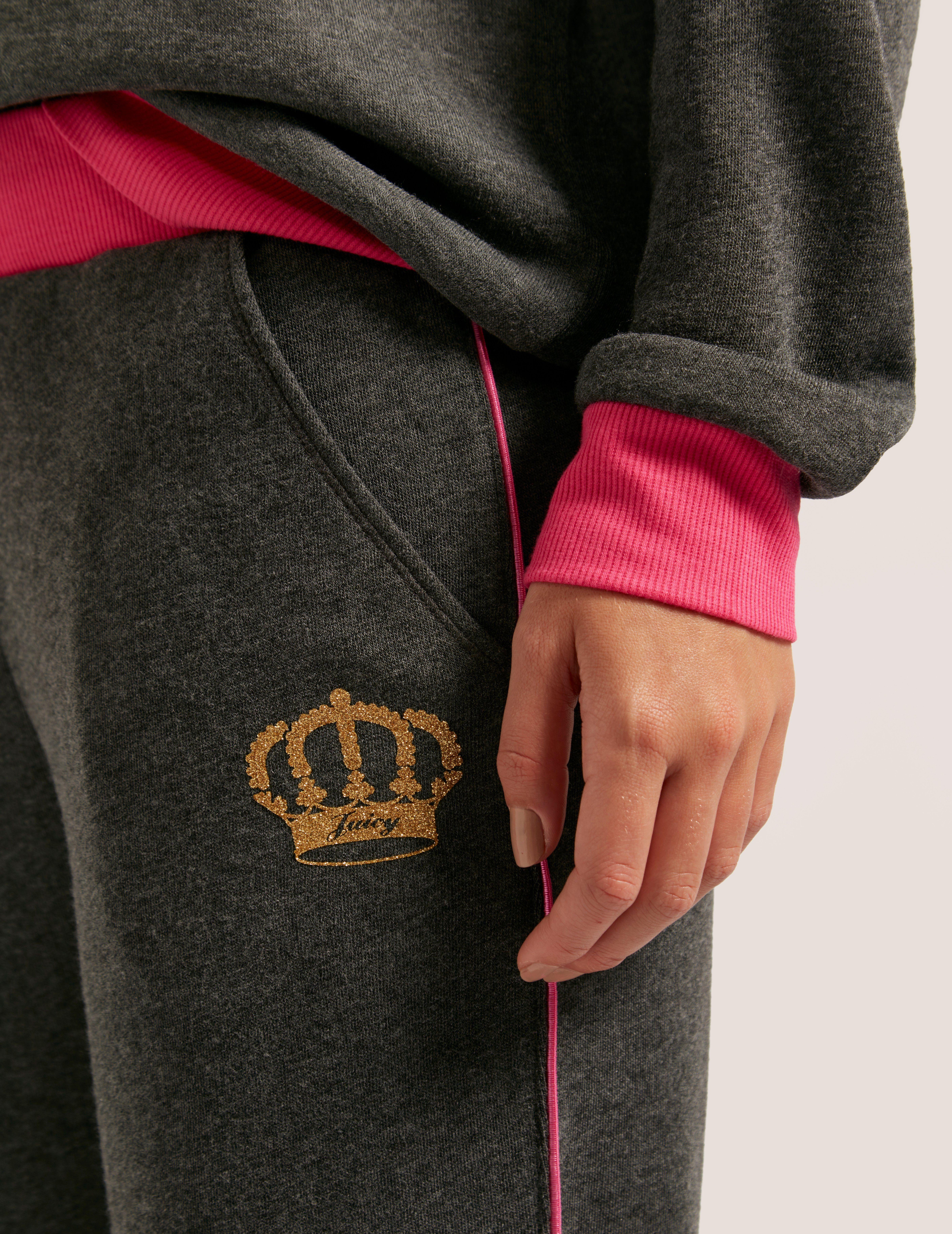 Juicy Couture Crown Fleece Pants