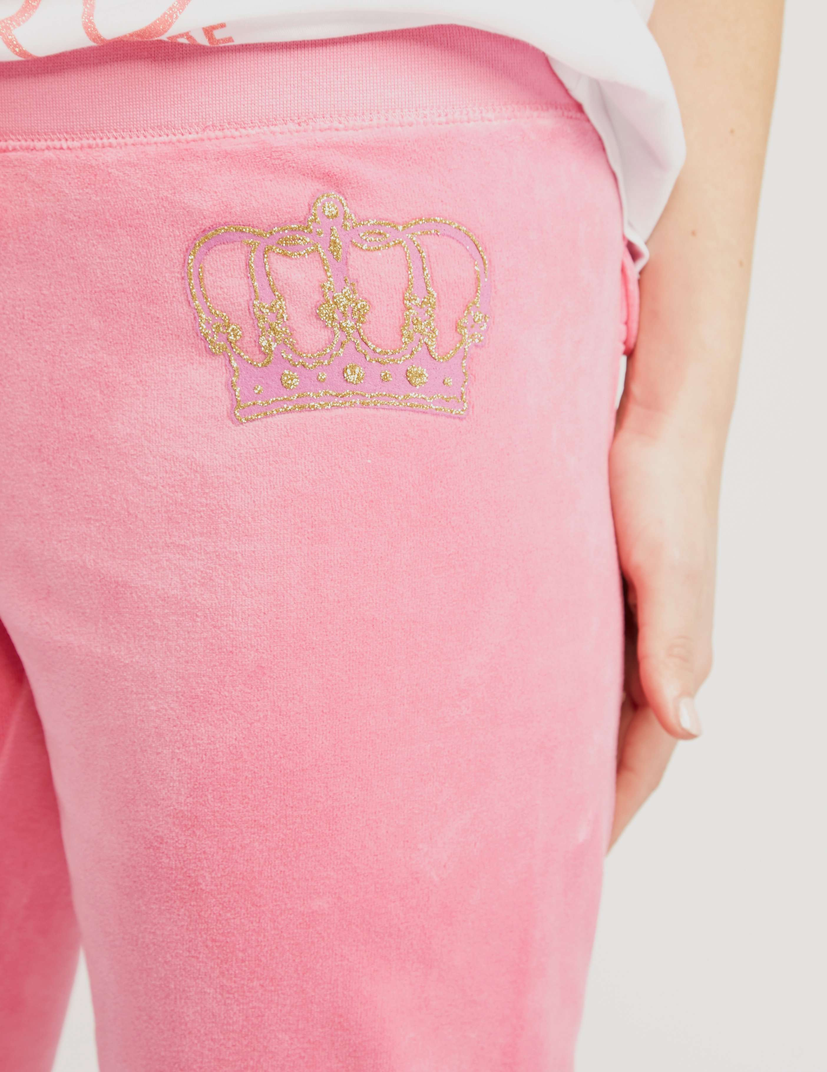 Juicy Couture Crown Velour Juicy Pant