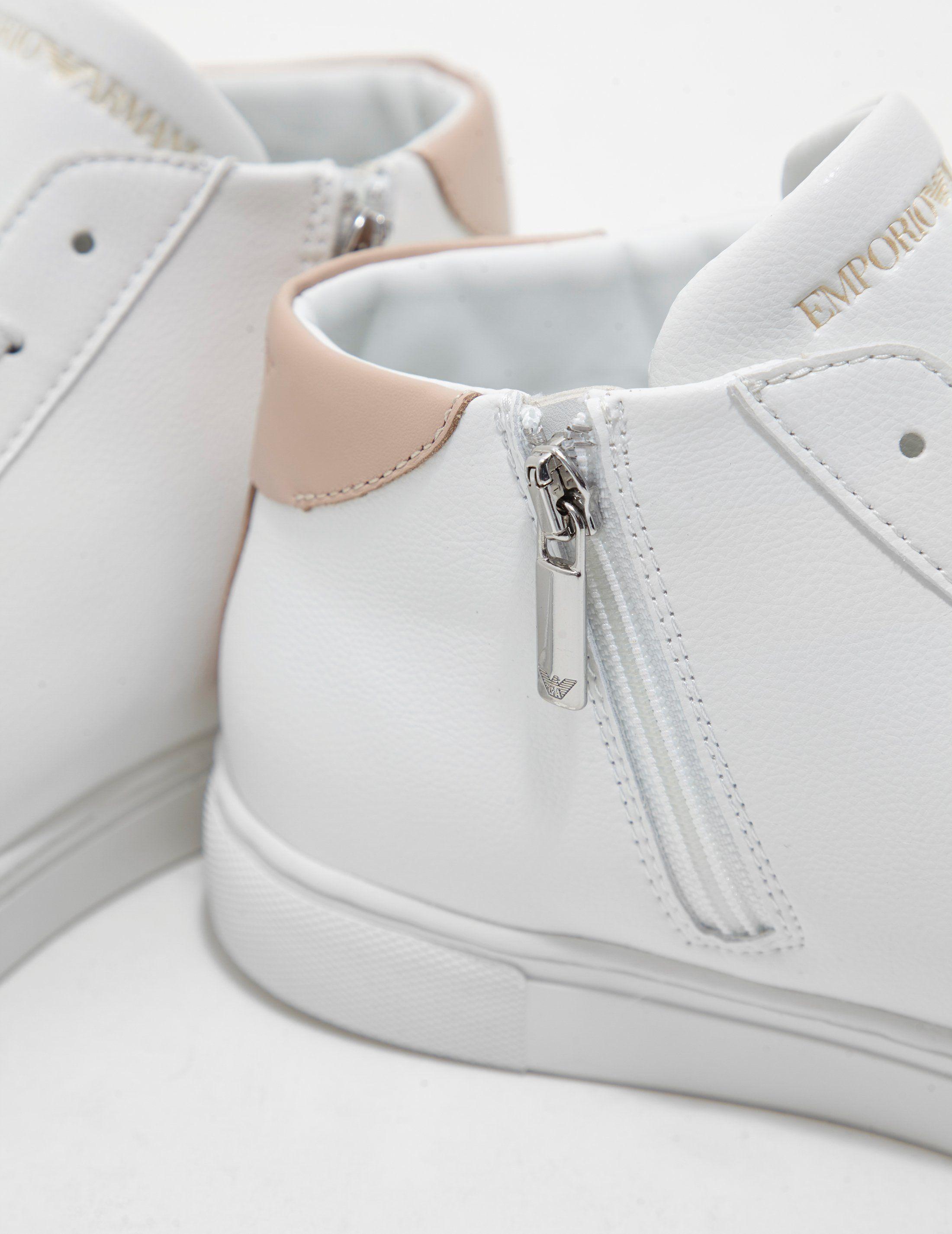 Emporio Armani Shara Hightop Sneakers