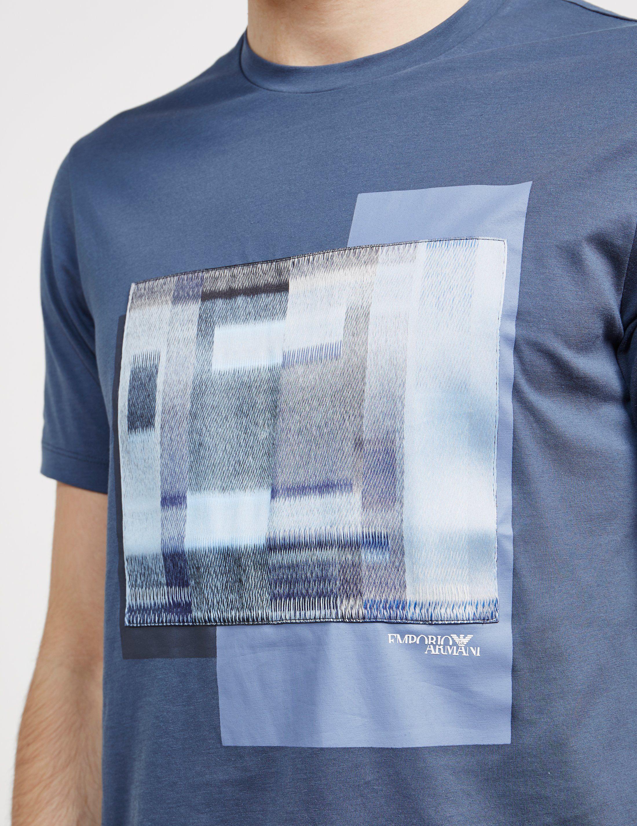 Emporio Armani Graphic Short Sleeve T-Shirt