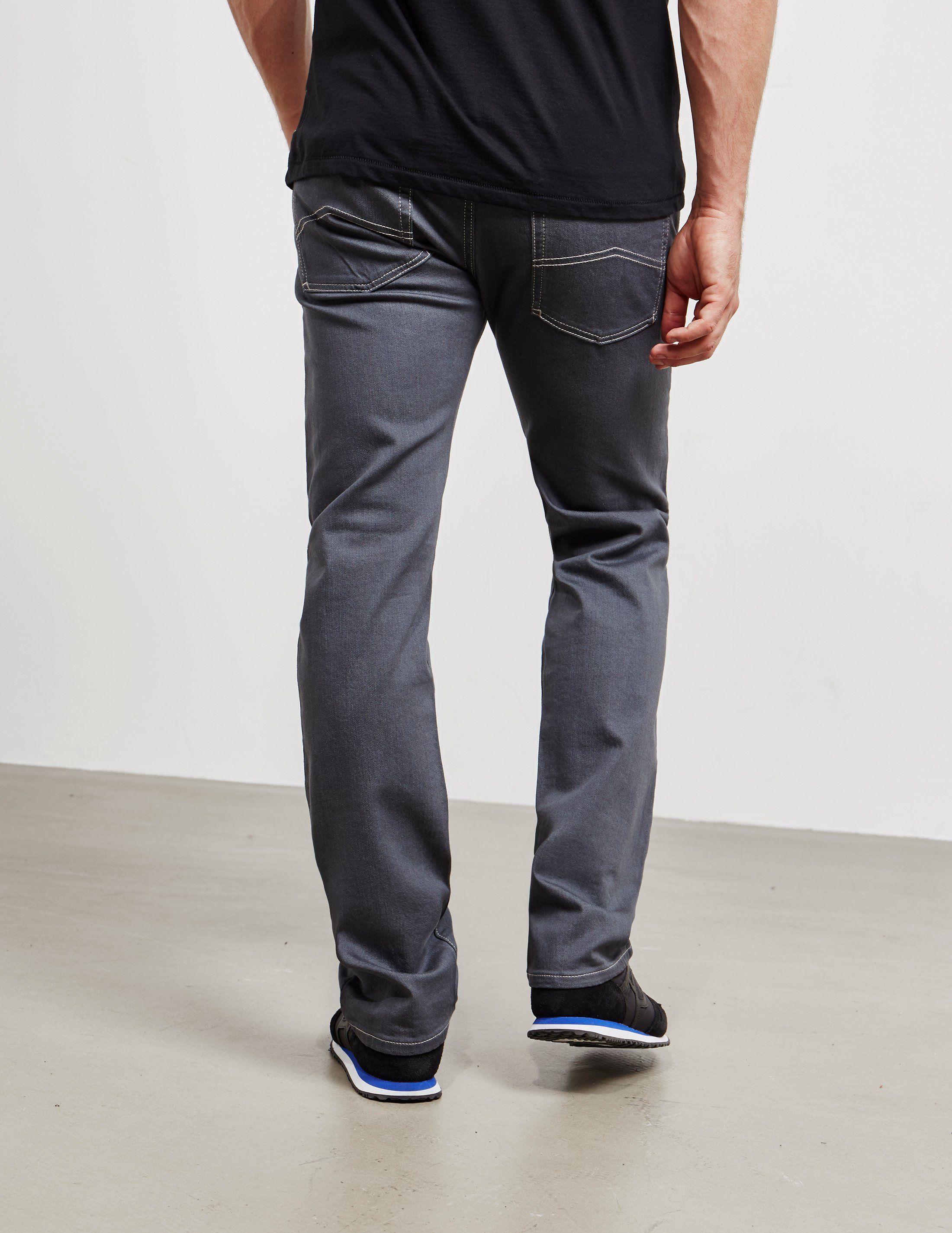 Emporio Armani J45 Regular Tapered Jeans