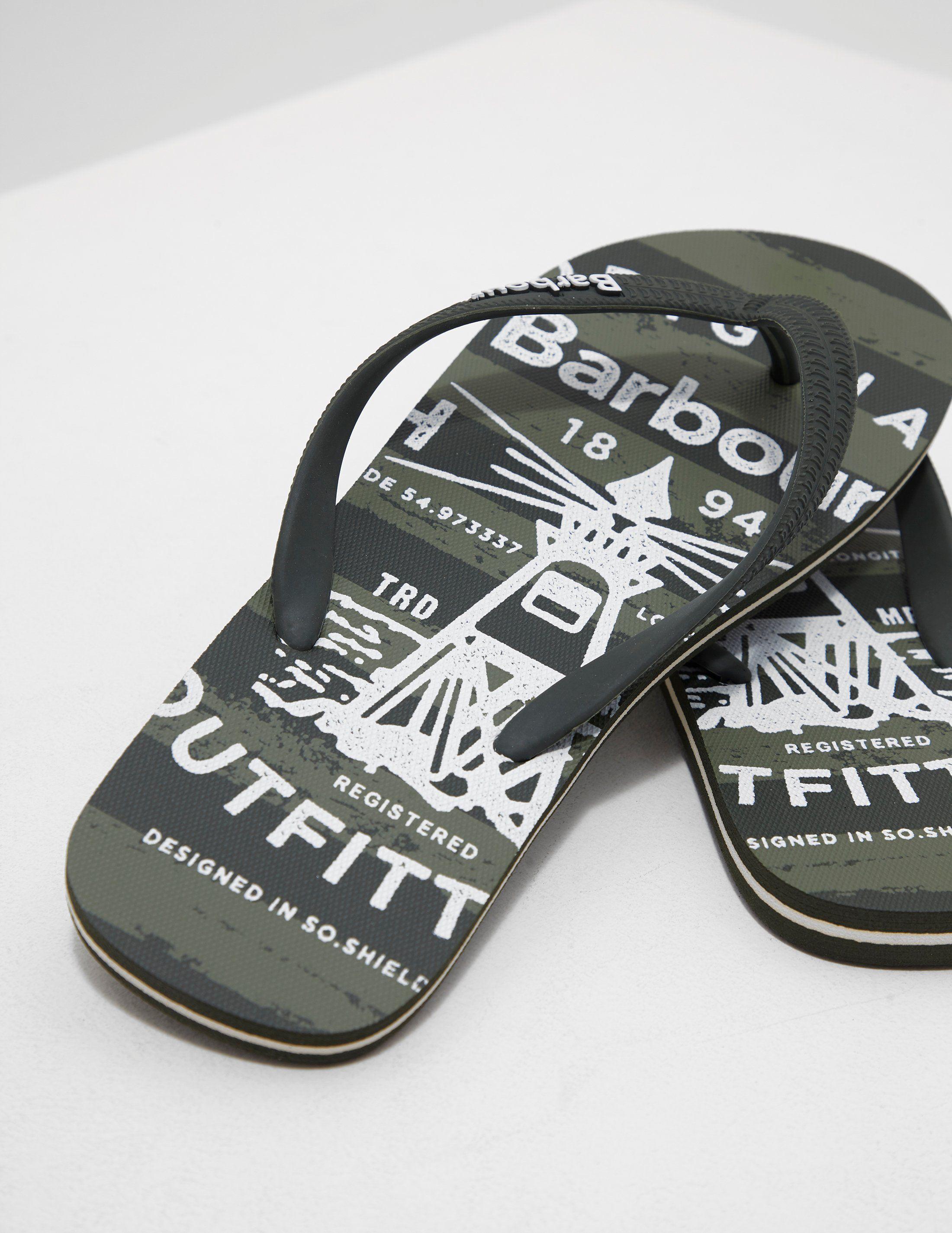 Barbour Beach Flip Flops