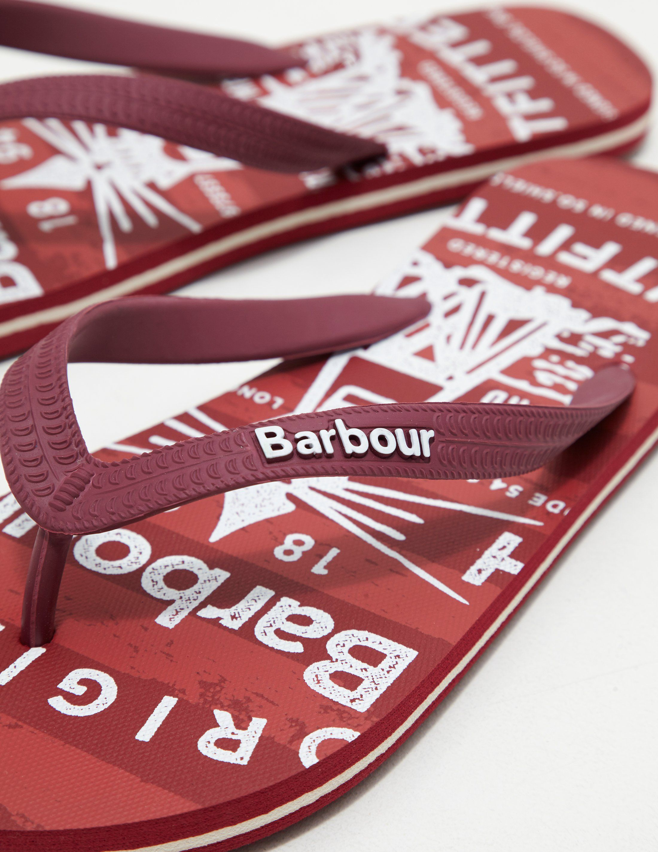 Barbour Beach Flip Flops