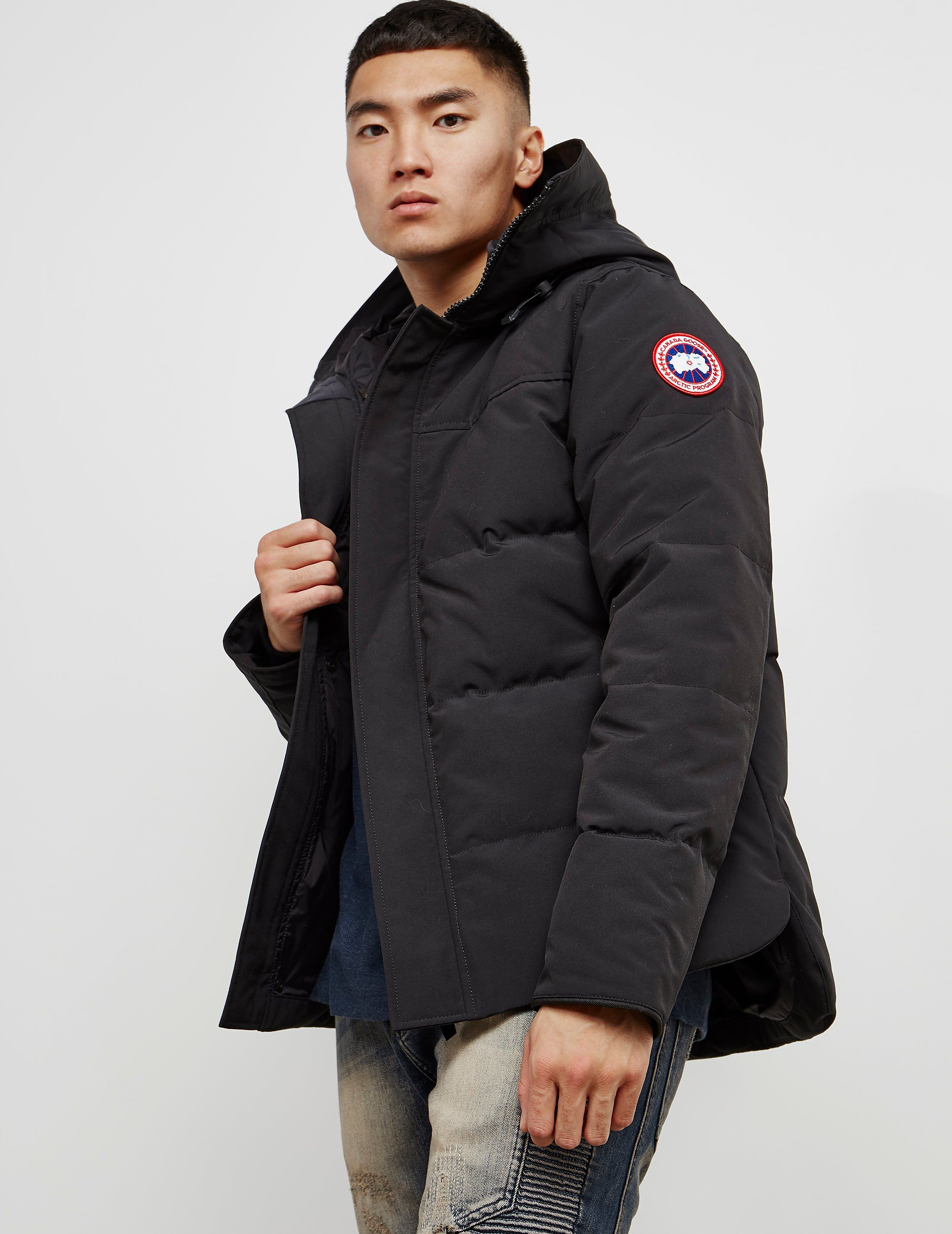 mens canada goose langford parka quick meals. Black Bedroom Furniture Sets. Home Design Ideas