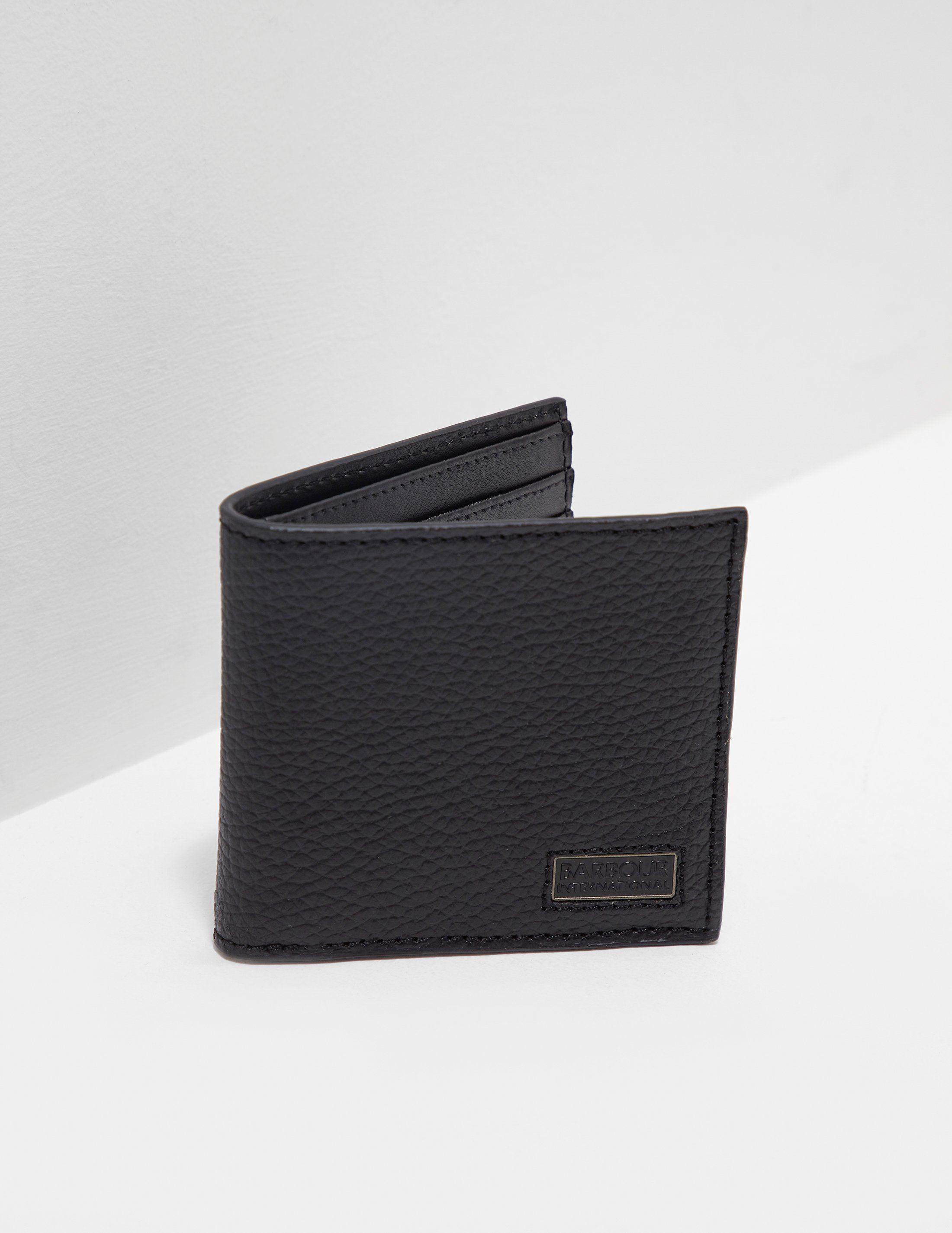 Barbour International Billfold Wallet