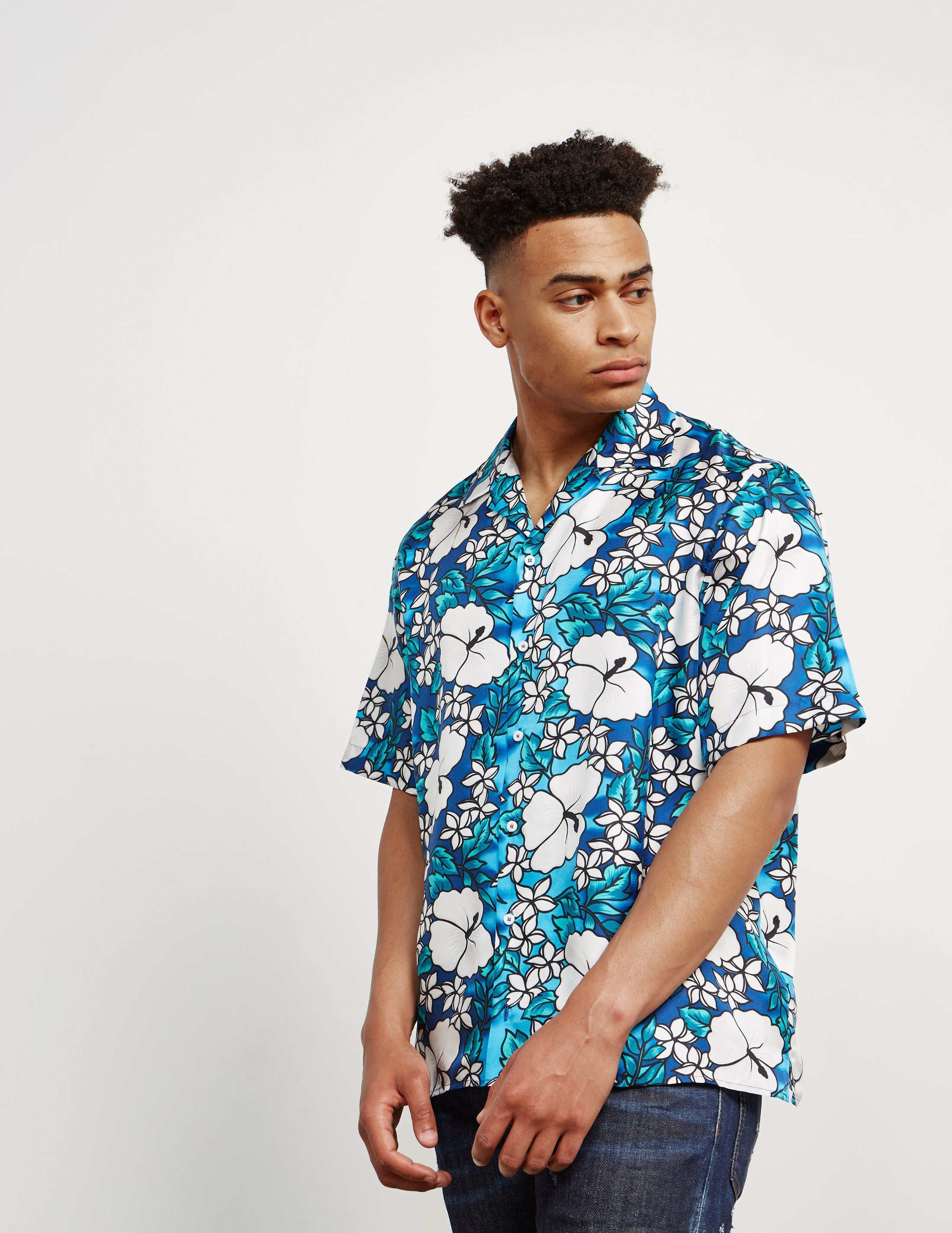 Dsquared2 Hawaii Short Sleeve Shirt - Online Exclusive