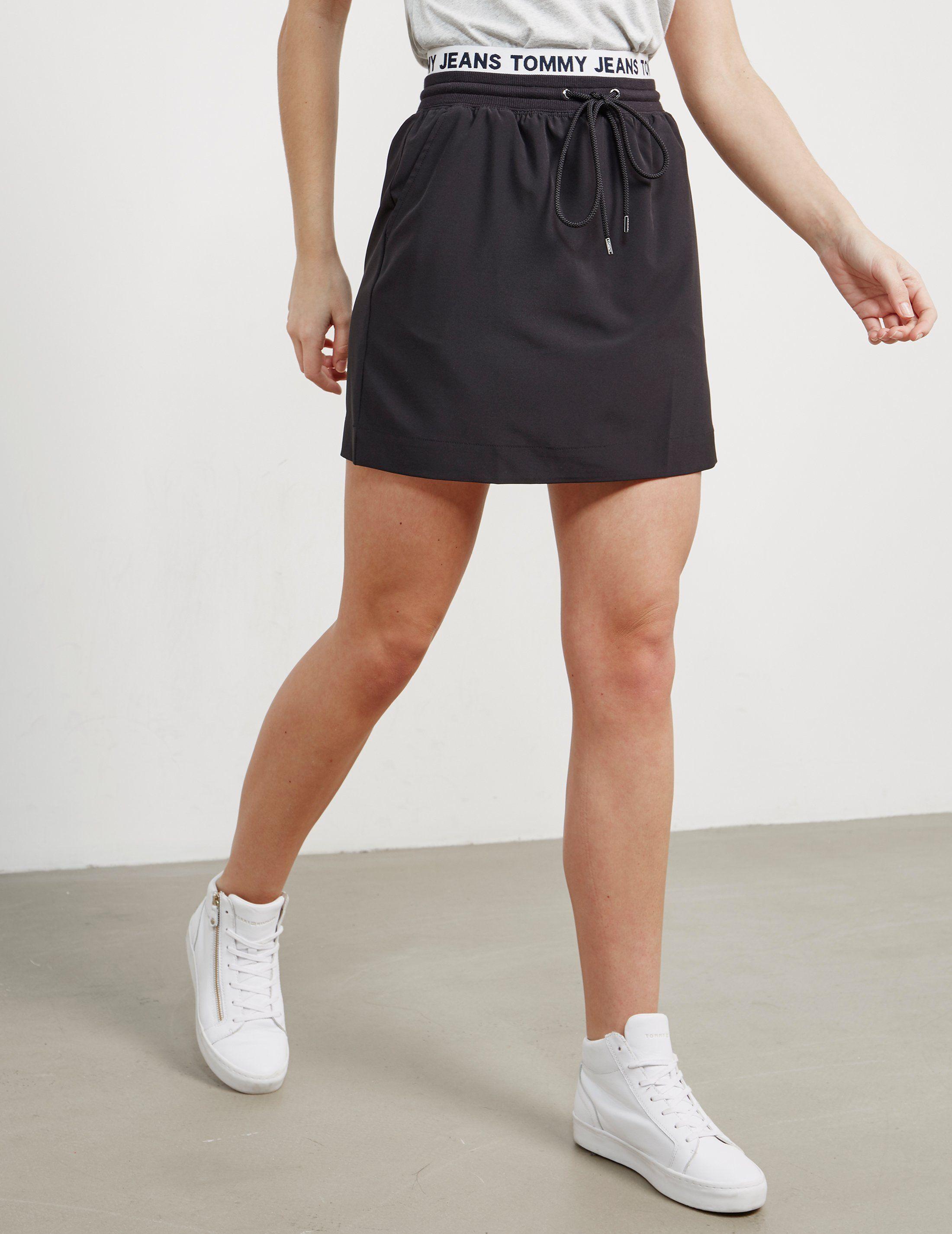 Tommy Hilfiger Logo Waistband Skirt