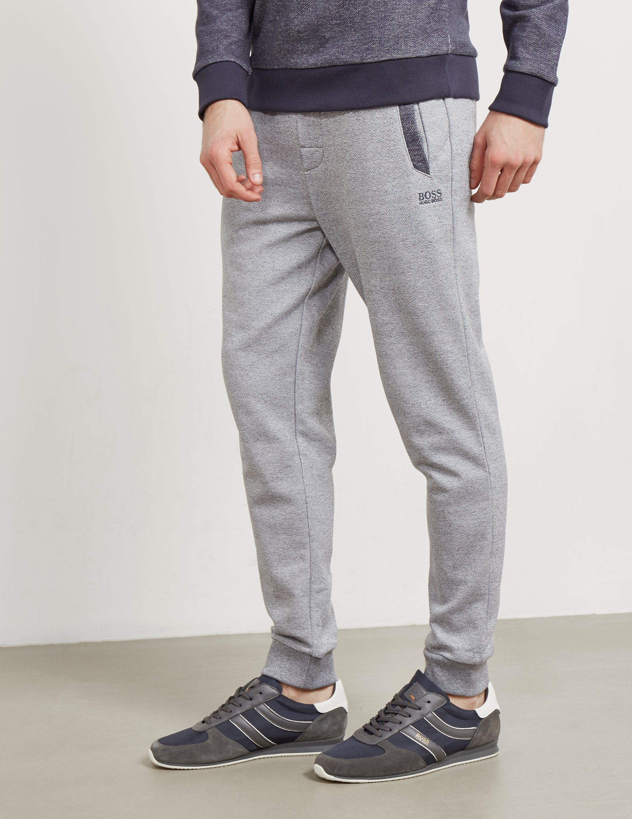 BOSS Marl Cuffed Track Pants