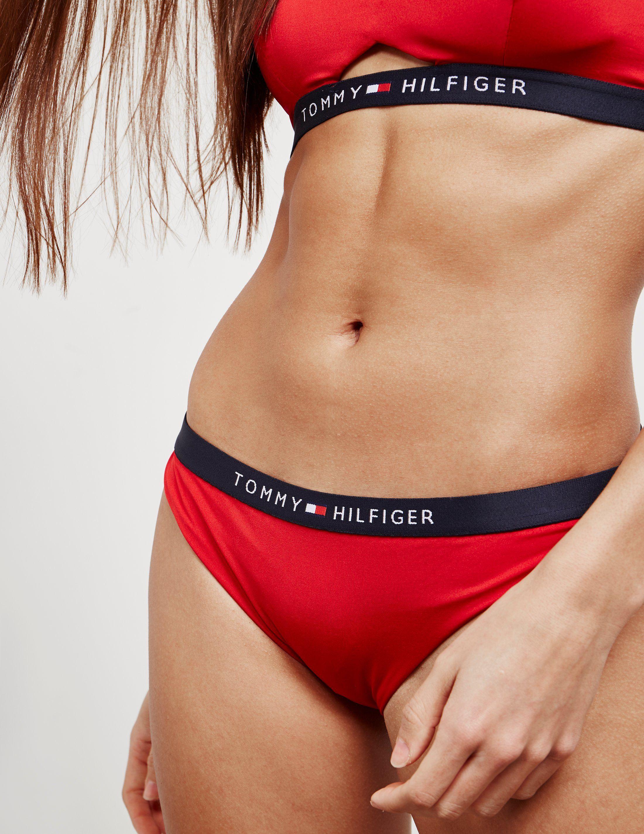 Tommy Hilfiger Swim Core Bikini Bottoms