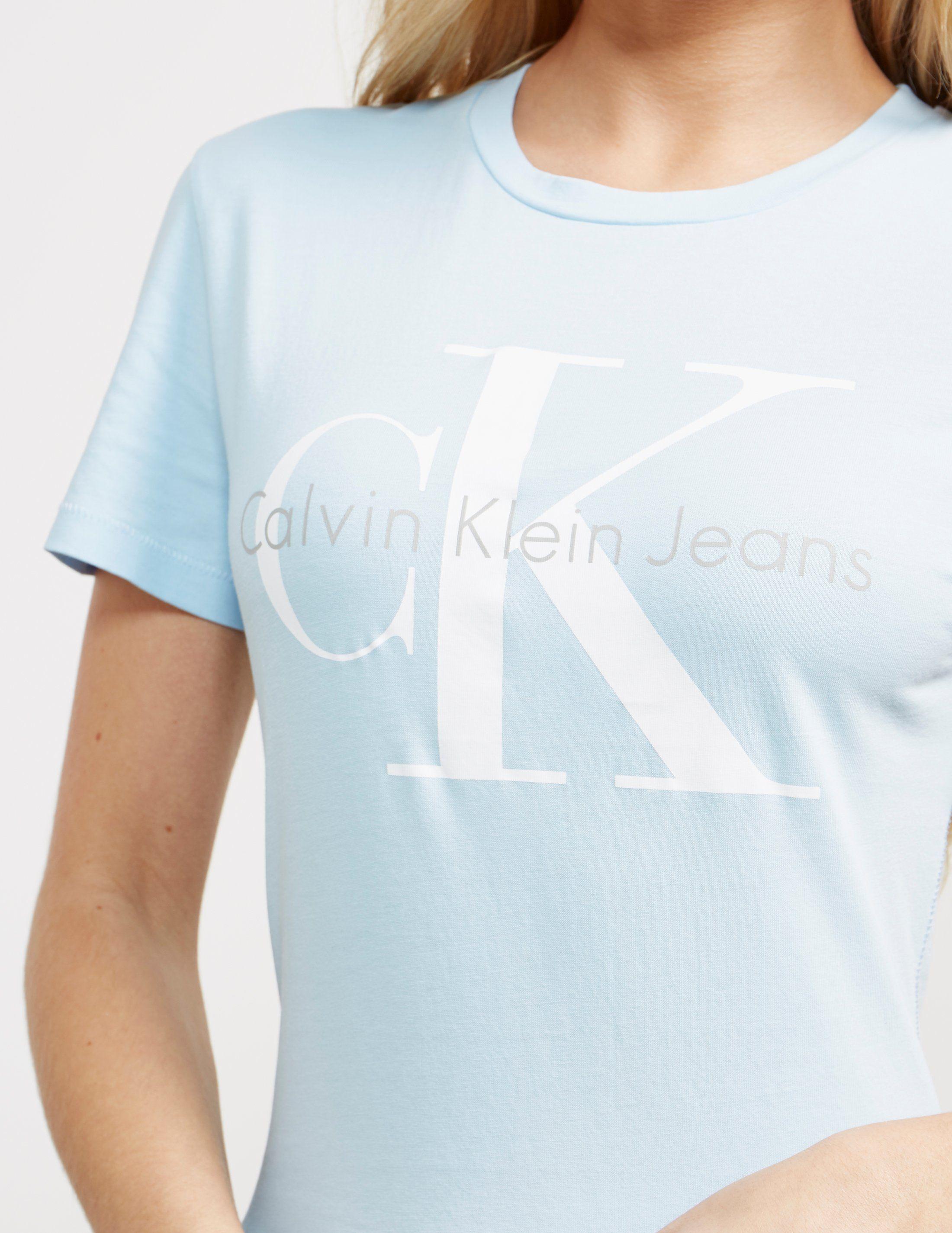 Calvin Klein Shrunken Short Sleeve T-Shirt