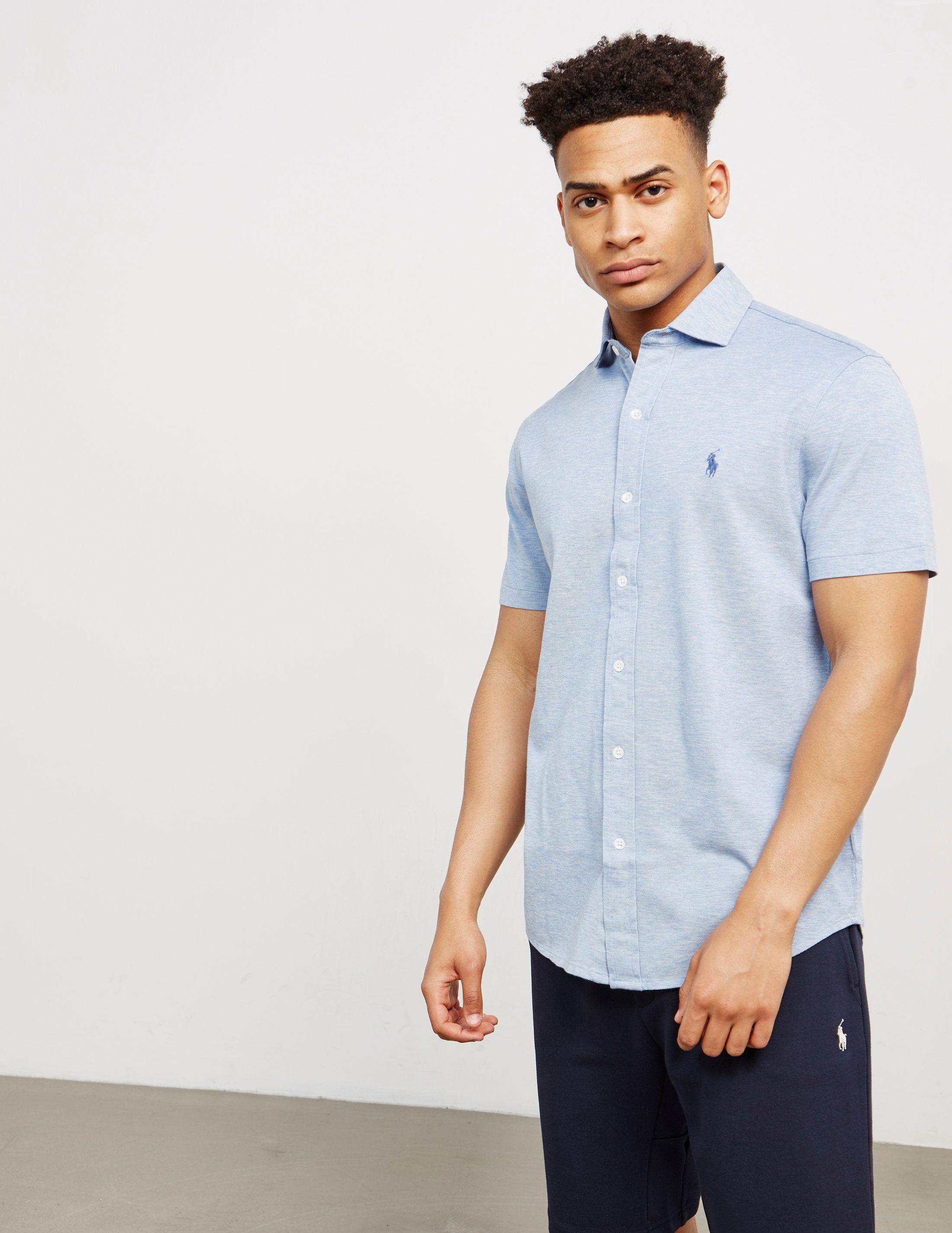Utmerket Polo Ralph Lauren Pique Short Sleeve Shirt | Tessuti BS-31