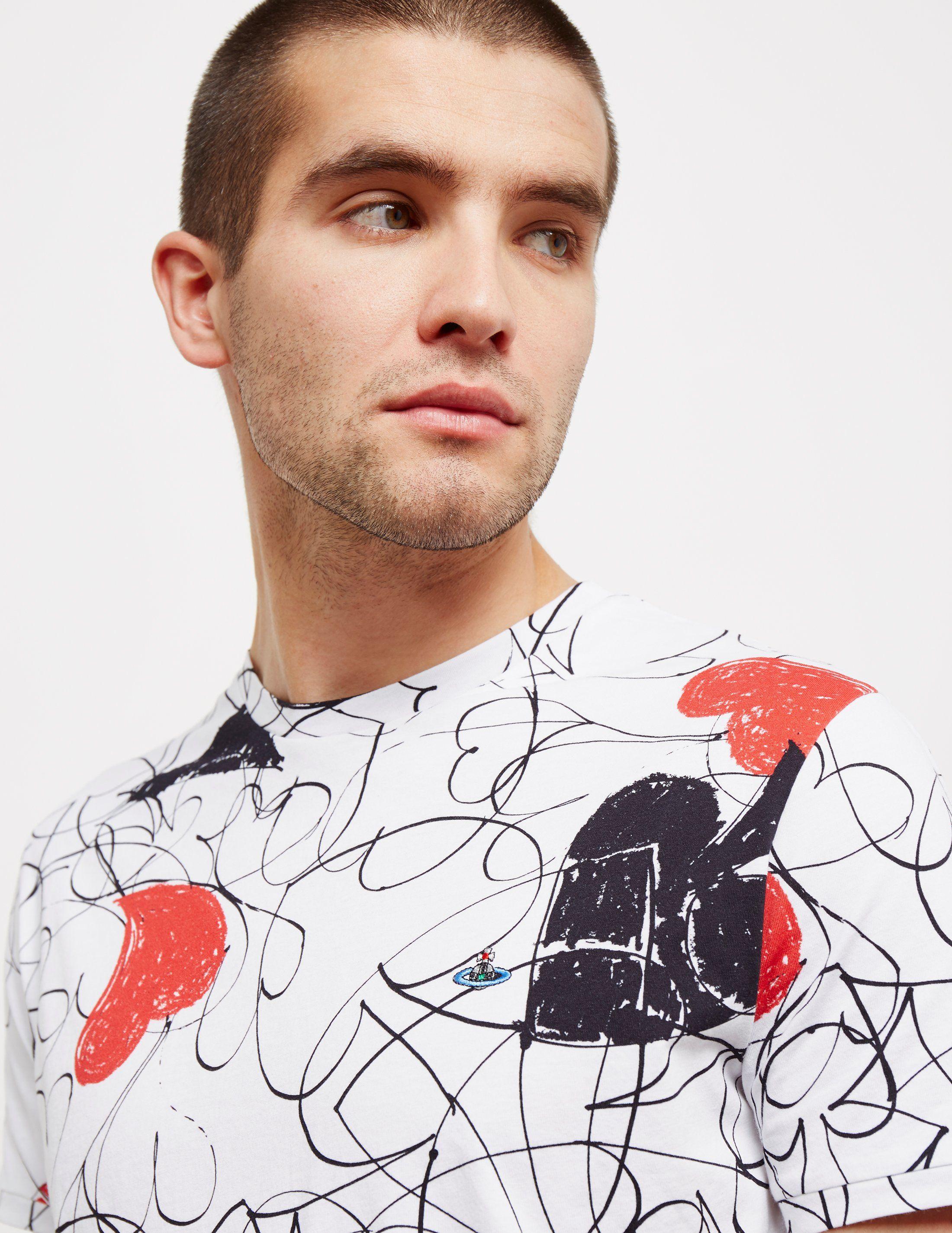 Vivienne Westwood Sketch Short Sleeve T-Shirt - Online Exclusive