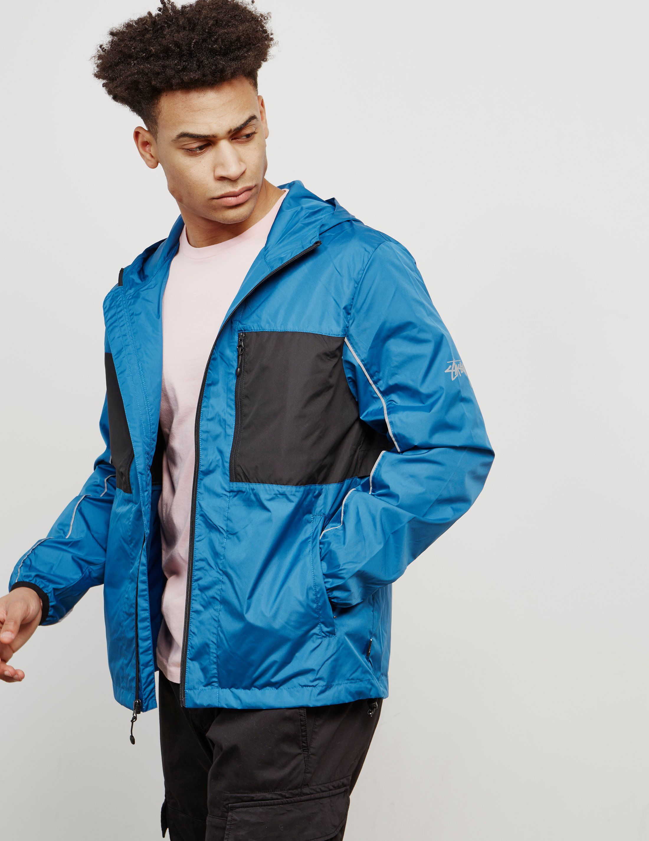 Stussy Reflective Lightweight Jacket - Online Exclusive
