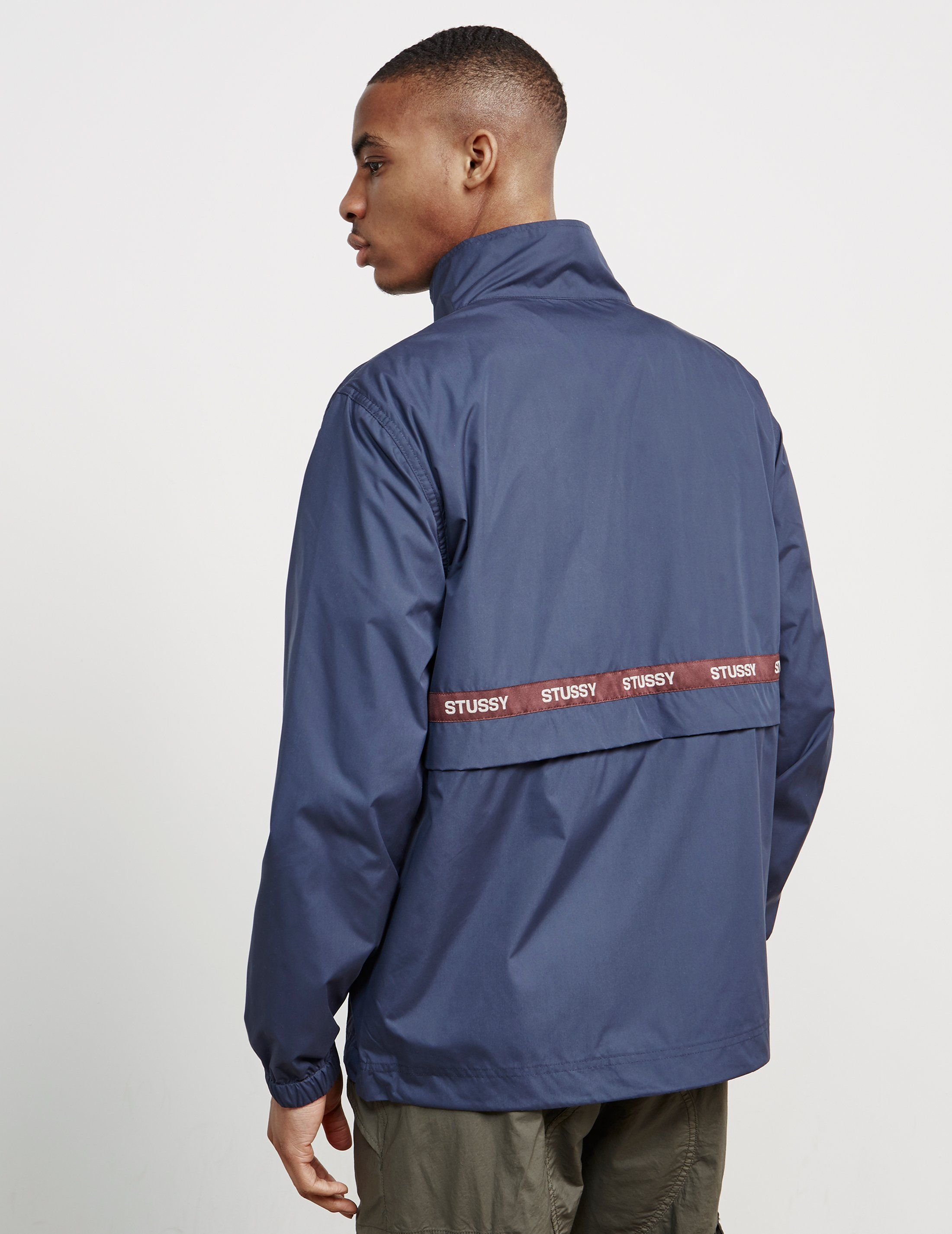 Stussy Lewis Tape Track Top