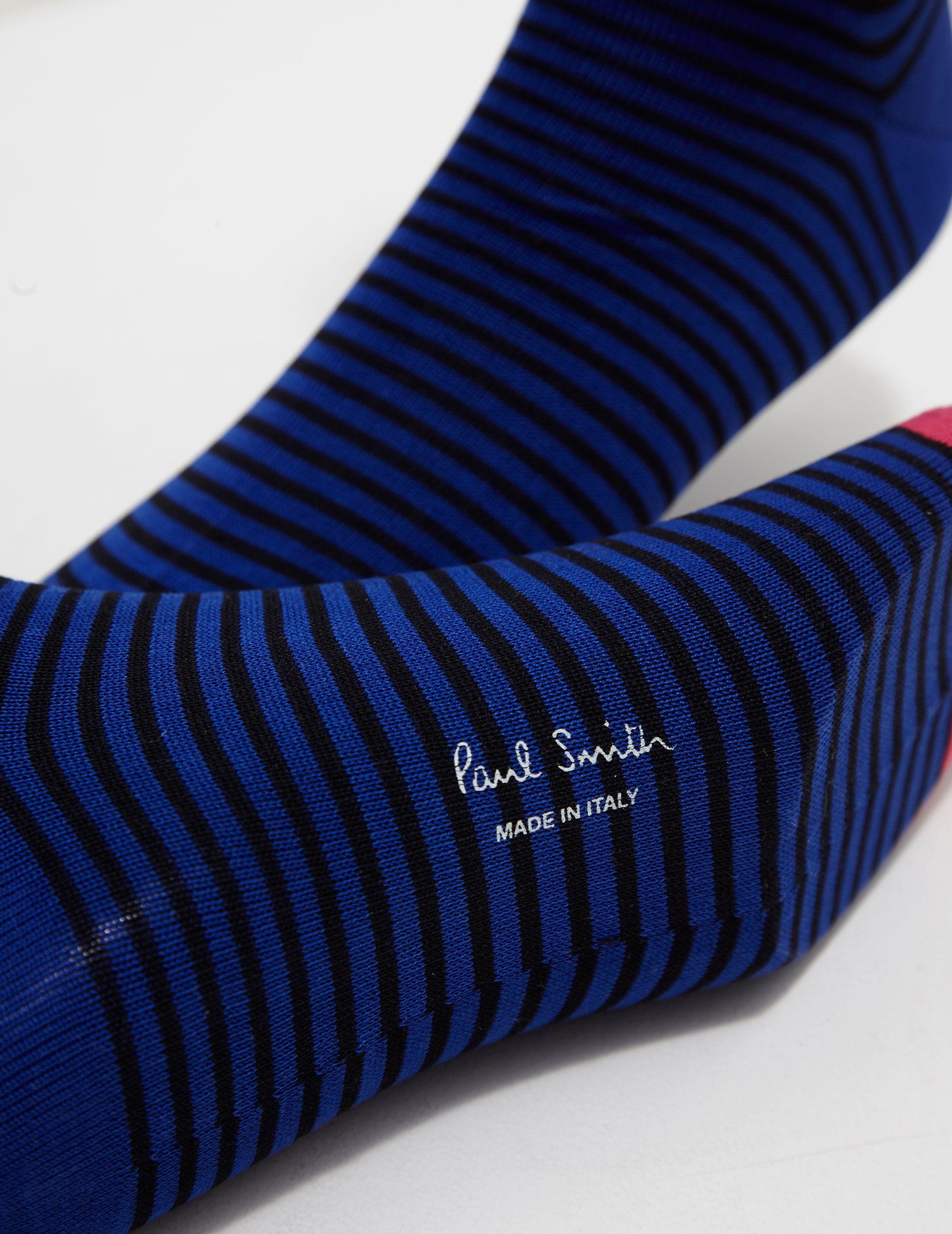 PS Paul Smith Mini Stripe Socks