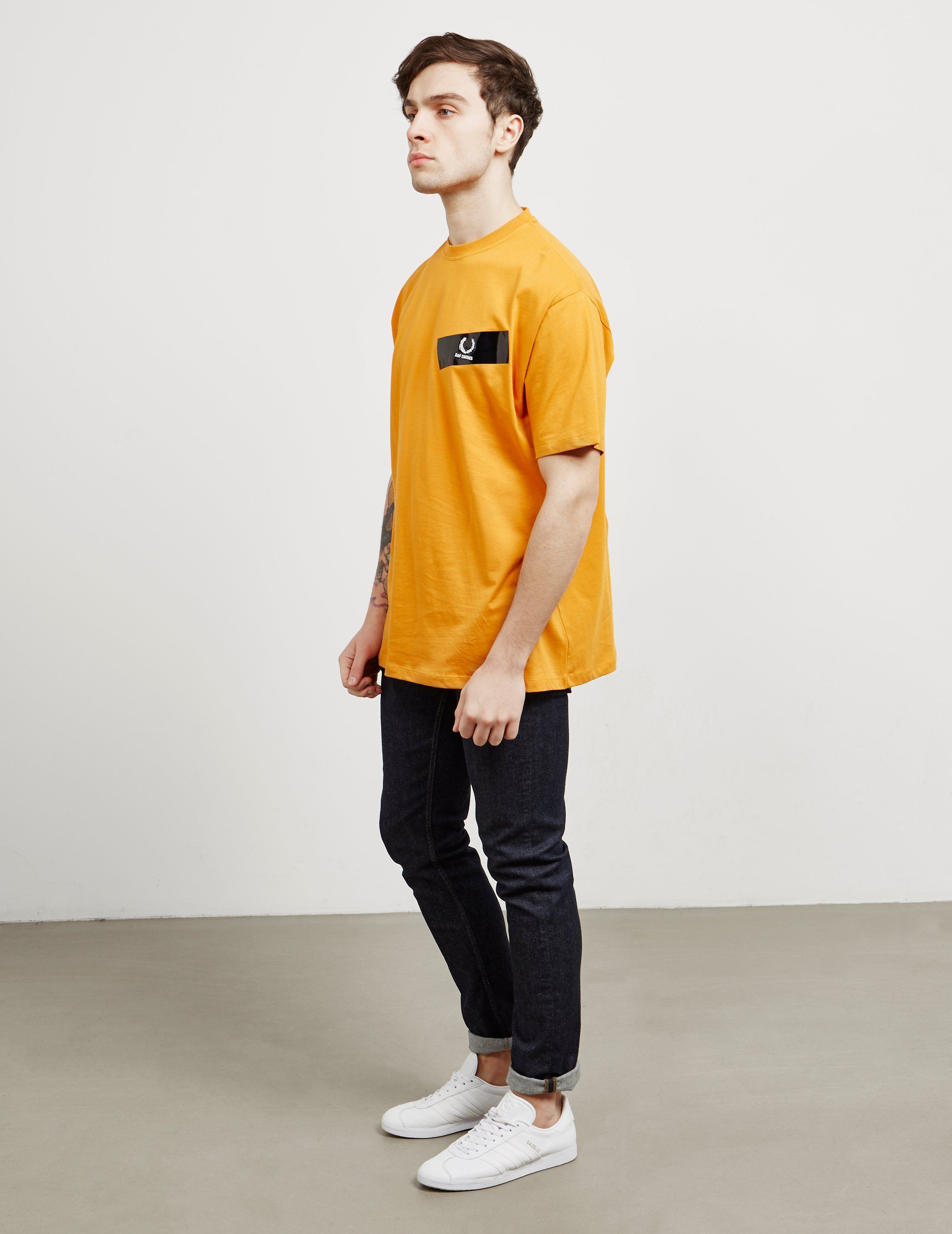 Fred Perry x Raf Simons Tape Short Sleeve T-Shirt