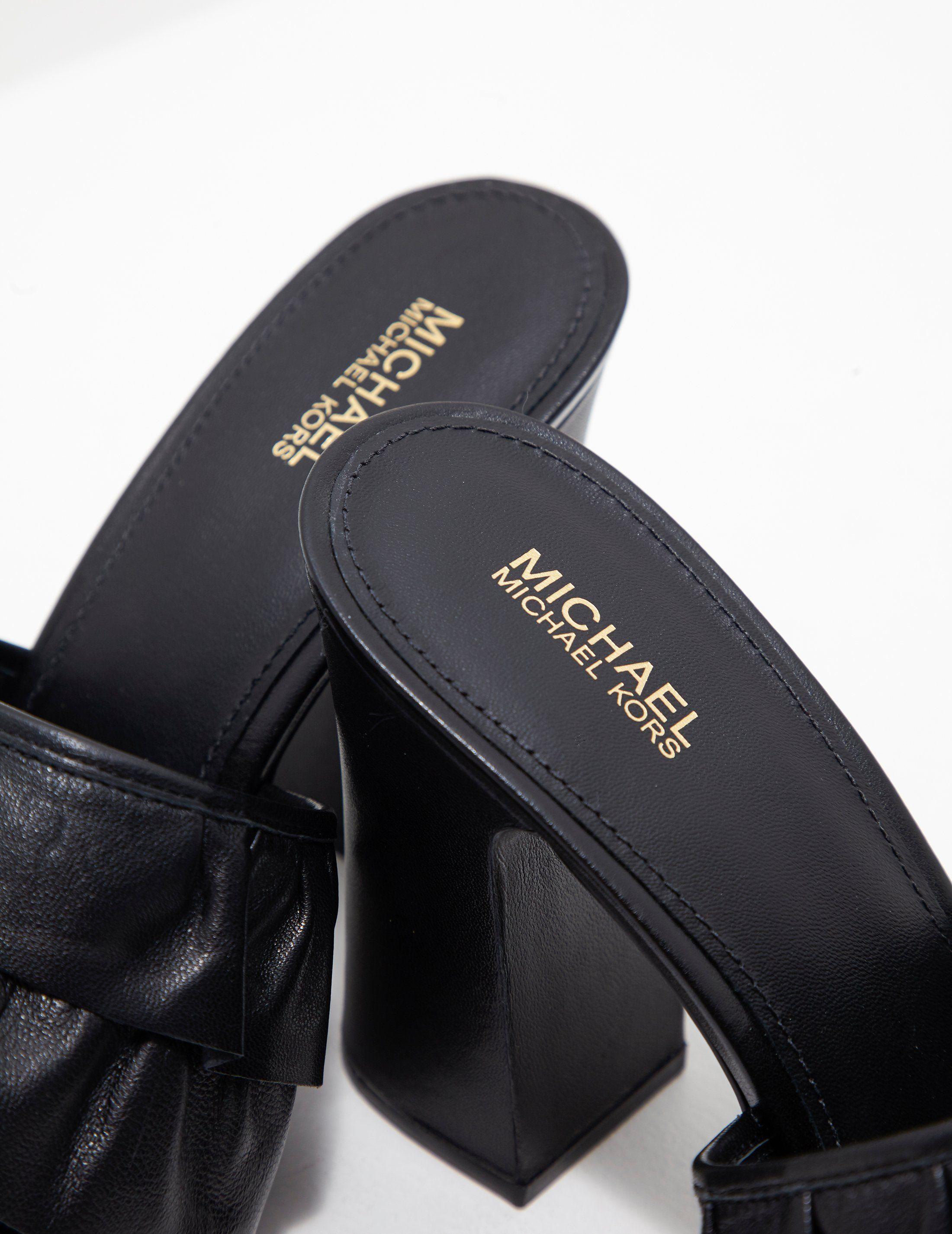 Michael Kors Bella Mule Heels - Online Exclusive