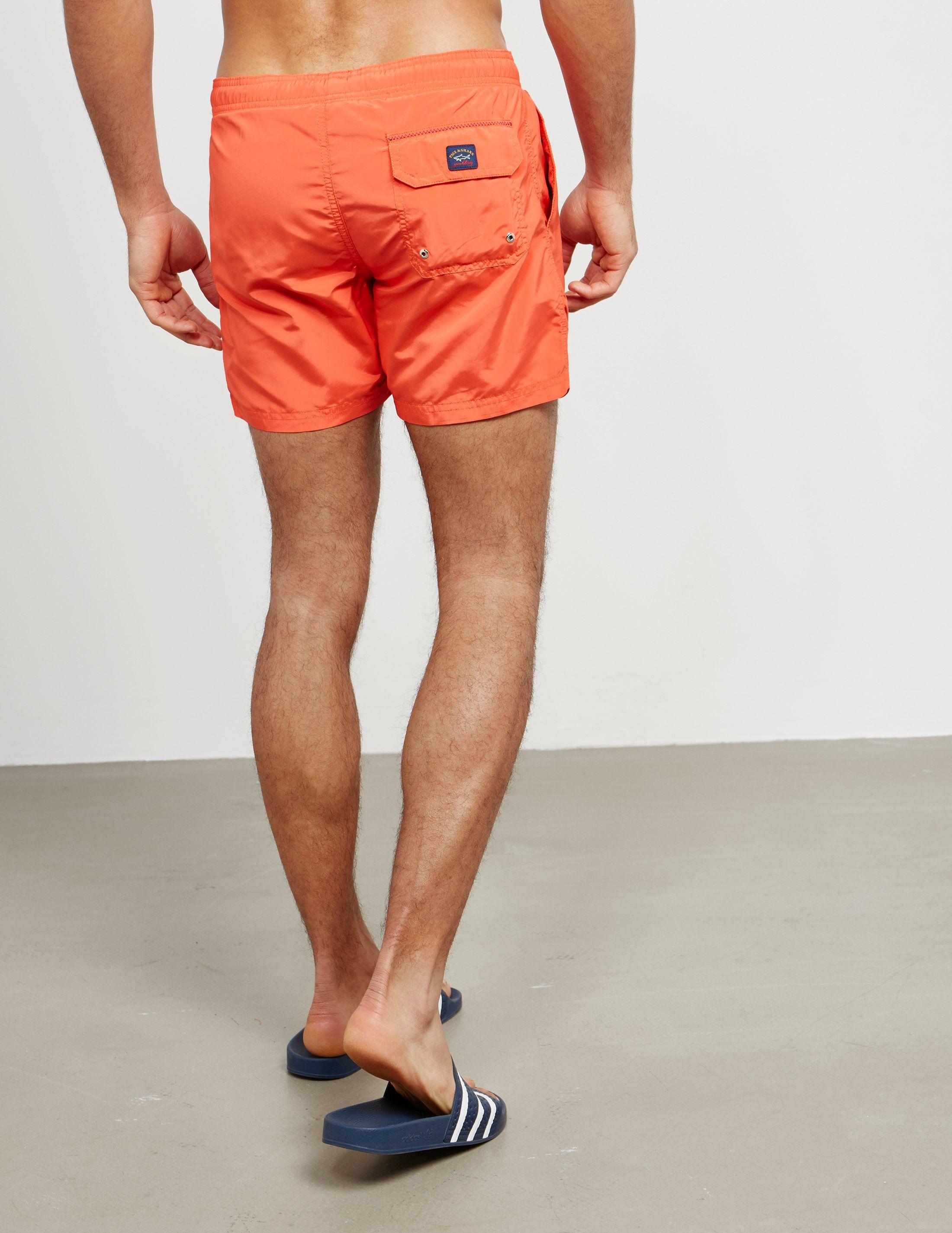 Paul and Shark Woven Swim Shorts