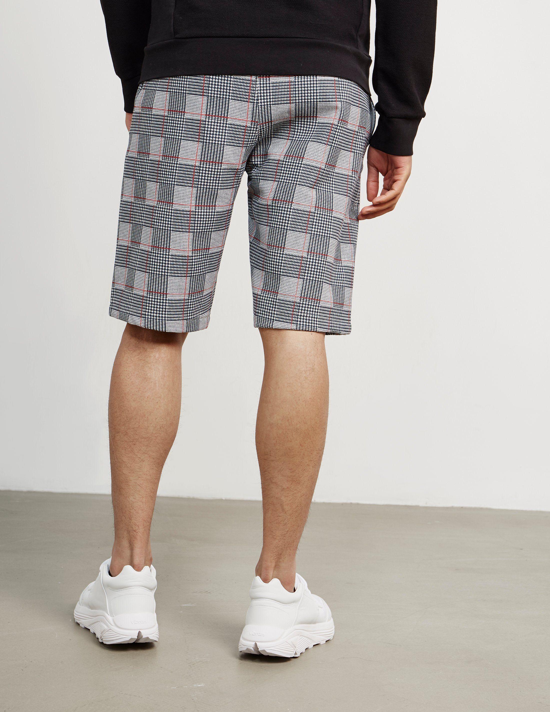 Champion AOP Check Shorts