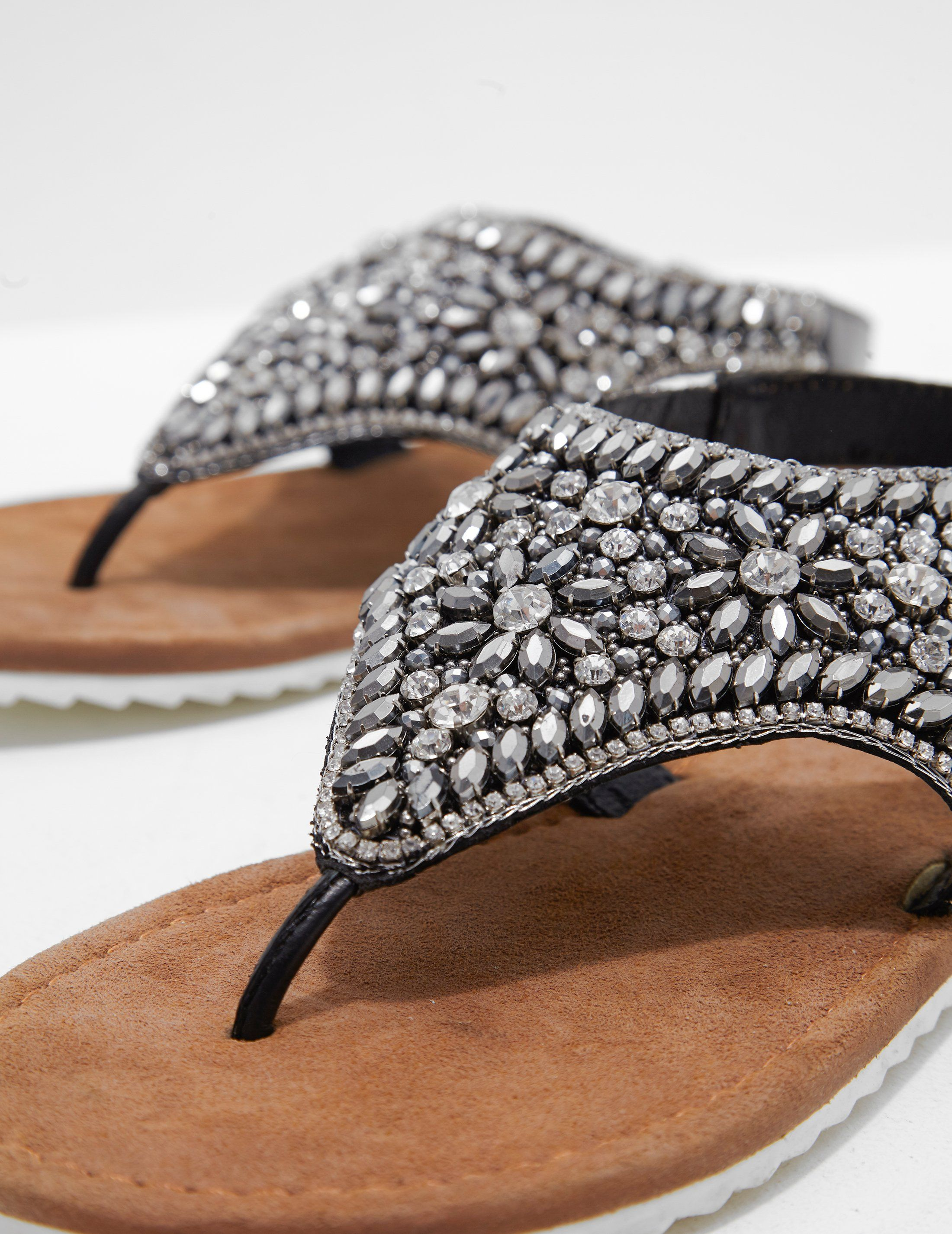 Ilse Jacobsen Sparkle Jewel Sandals