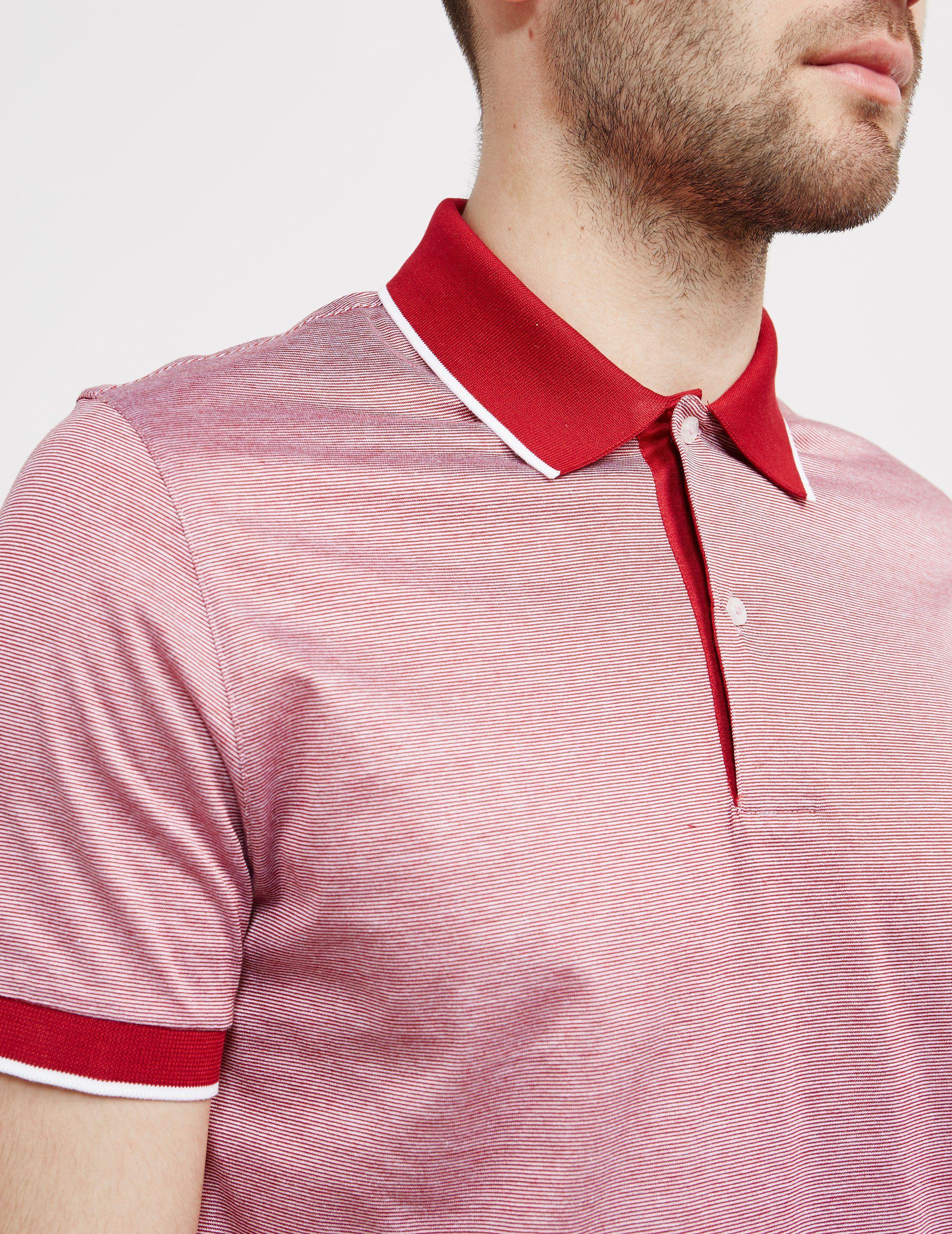 Gran Sasso Shine Short Sleeve Polo Shirt