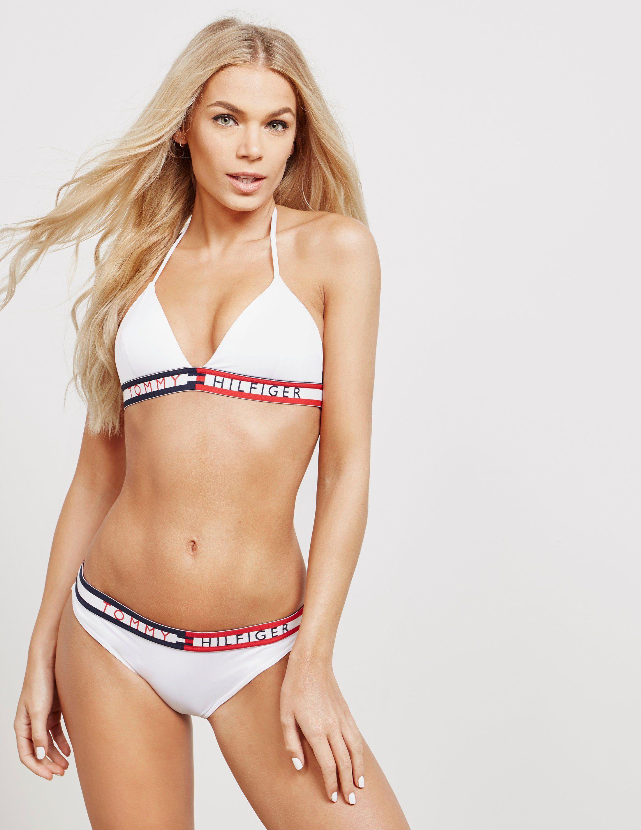 Tommy Hilfiger Tape Bikini Top