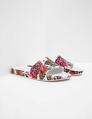 95683f3f8079d2 ... Melissa Floral Slides arrives b624c 780c1  Melissa Women s Flower Pixel  Beach Slide Sandals ...