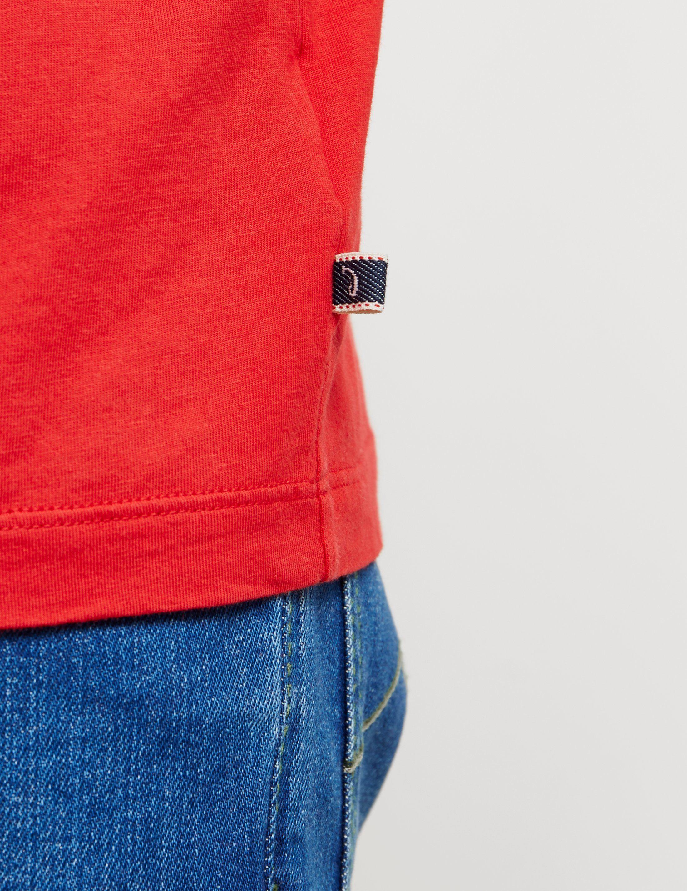 Jacob Cohen Stitch Logo Short Sleeve T-Shirt