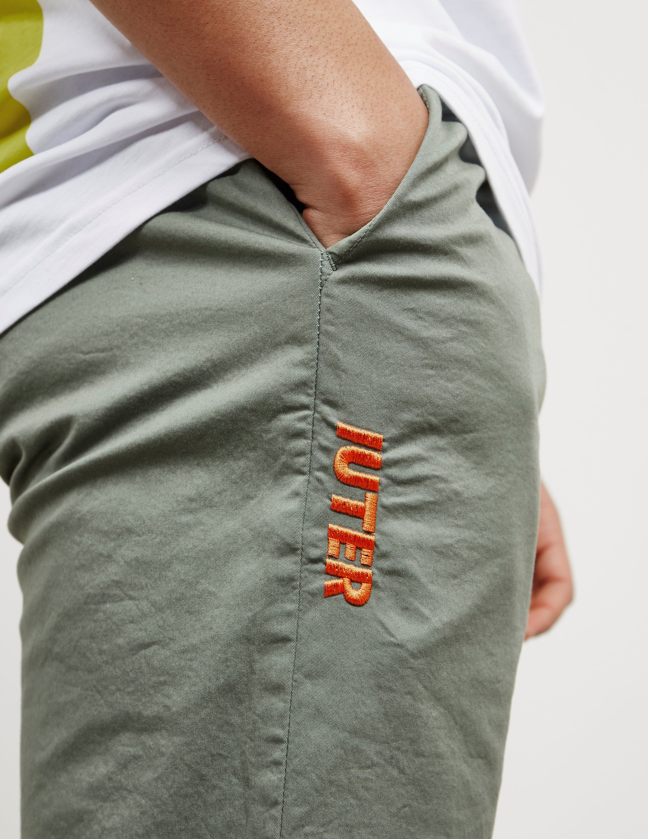 IUTER Logo Cuffed Track Pants