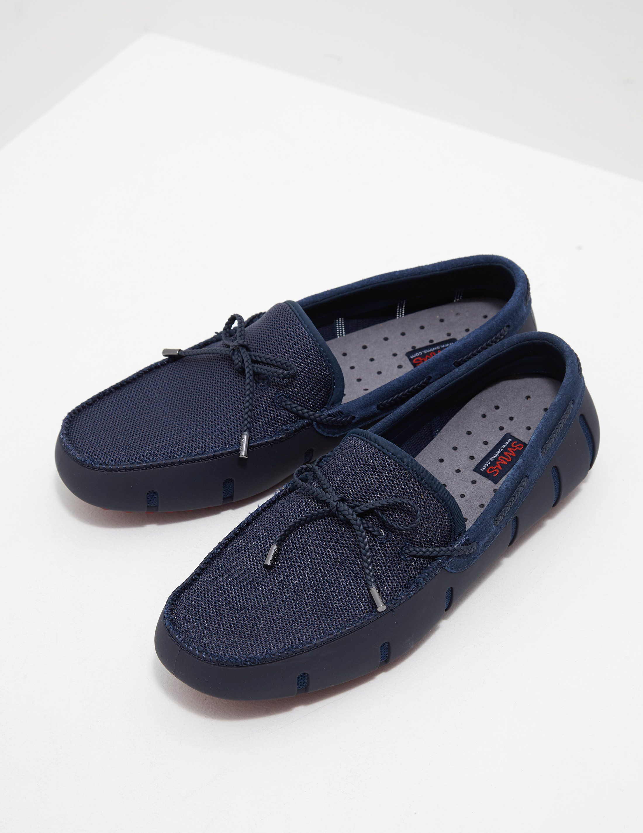 SWIMS Braid Lace Loafers