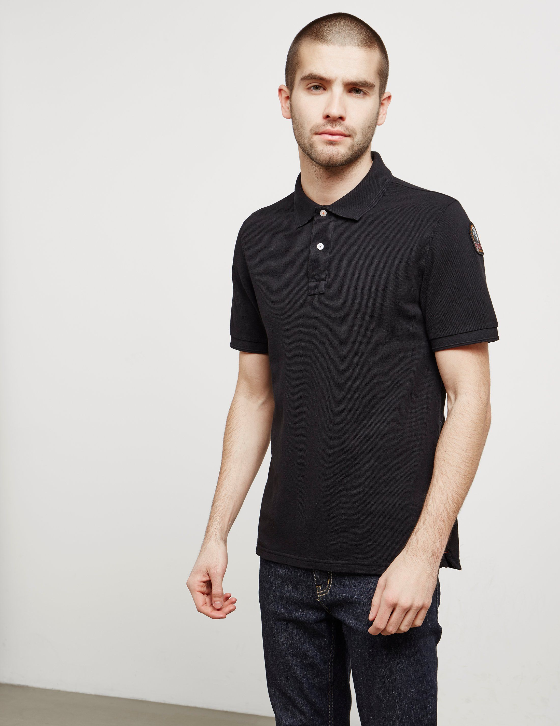 Parajumpers Patch Short Sleeve Polo Shirt