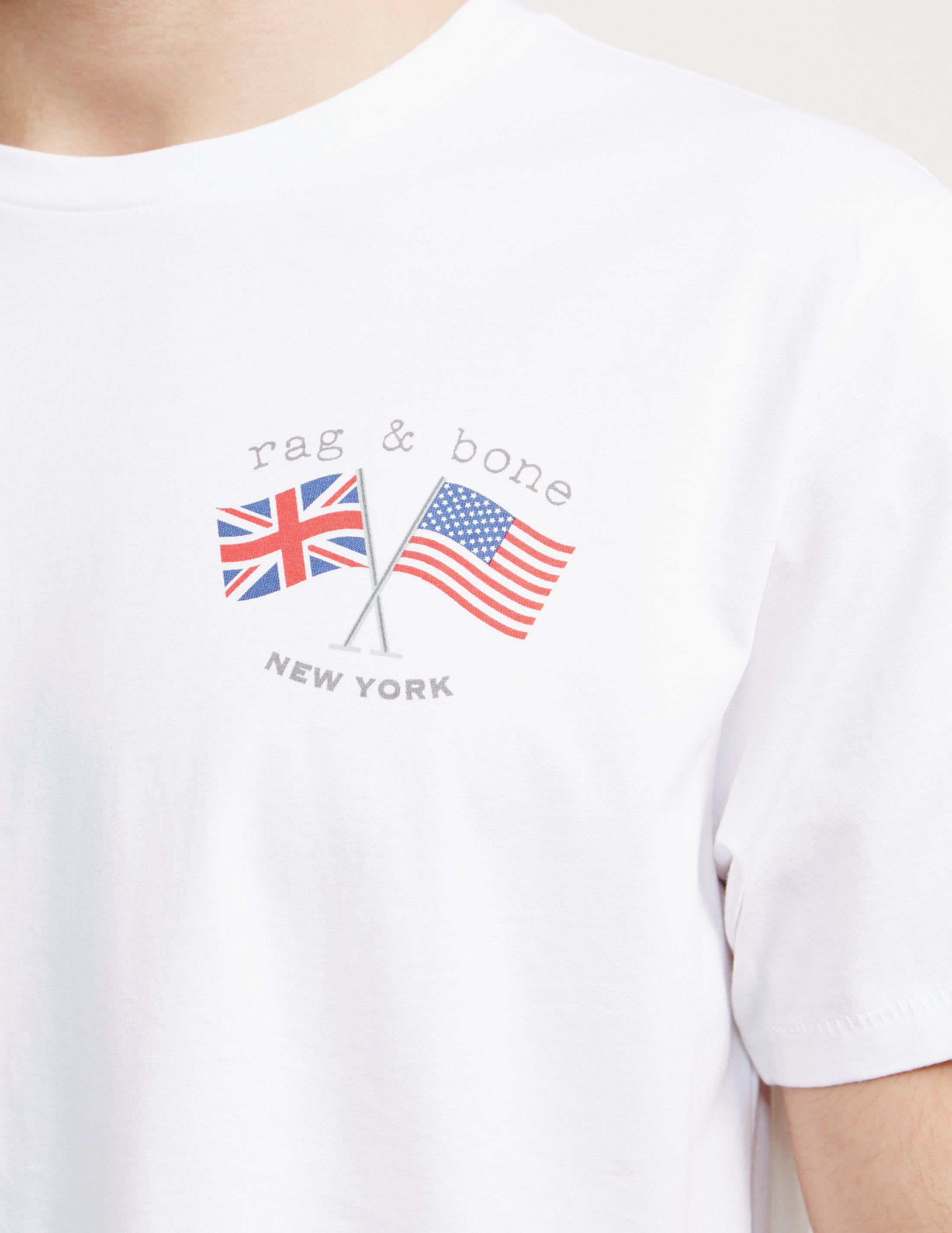 Rag & Bone Flag Short Sleeve T-Shirt