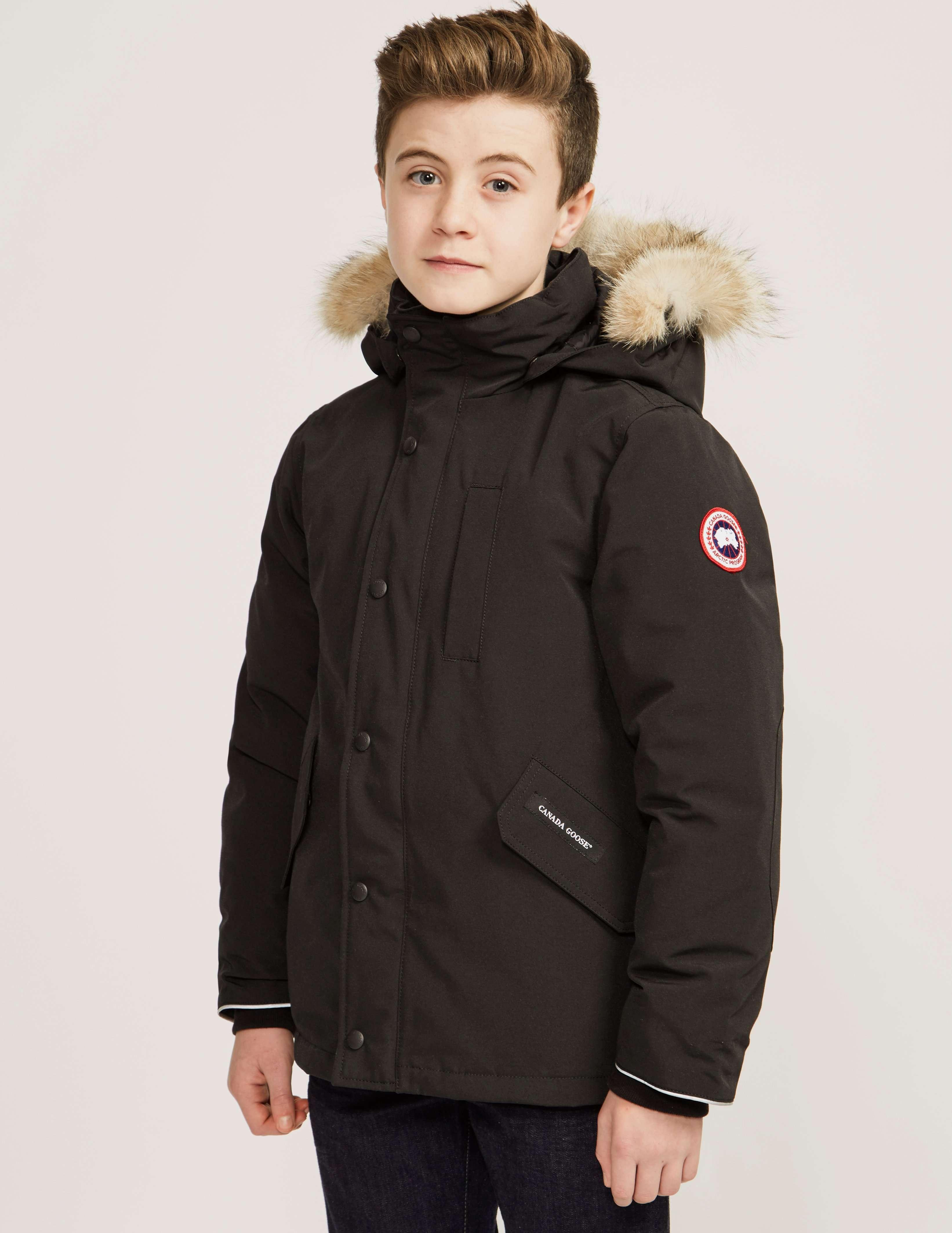 Canada Goose Kids Logan Parka Jacket Tessuti
