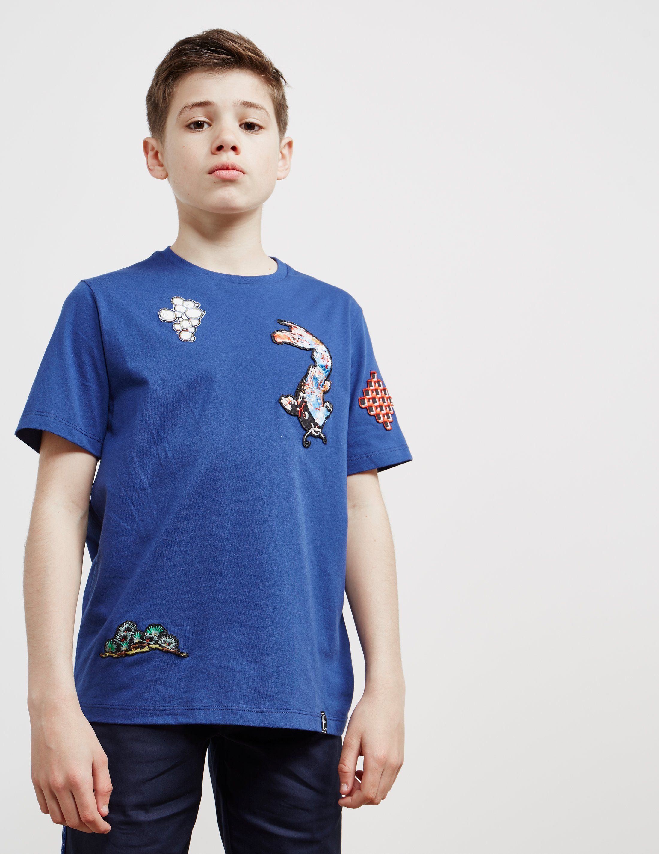 Lanvin Embroidered Short Sleeve T-Shirt
