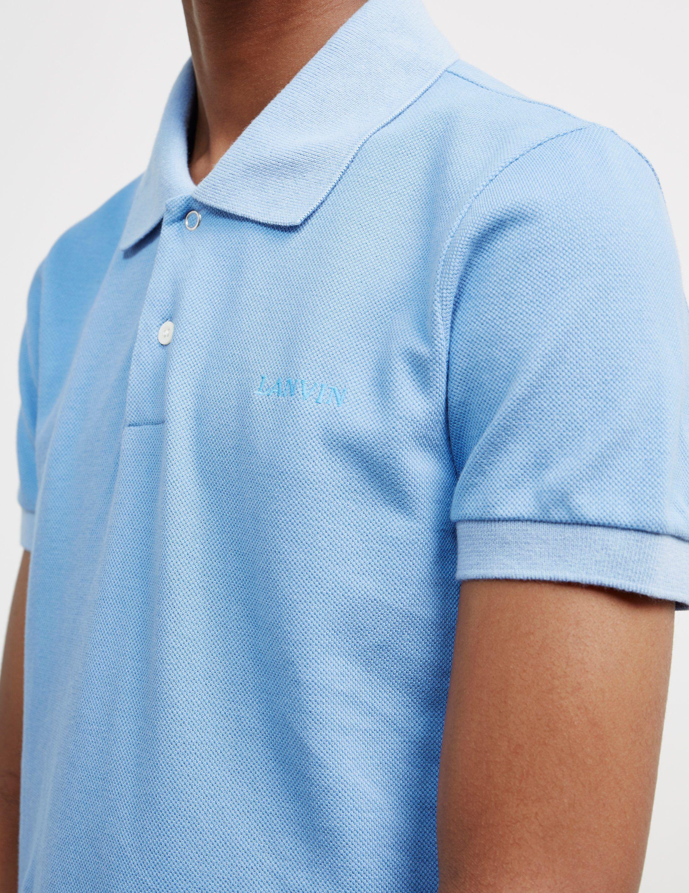 Lanvin Basic Short Sleeve Polo Shirt