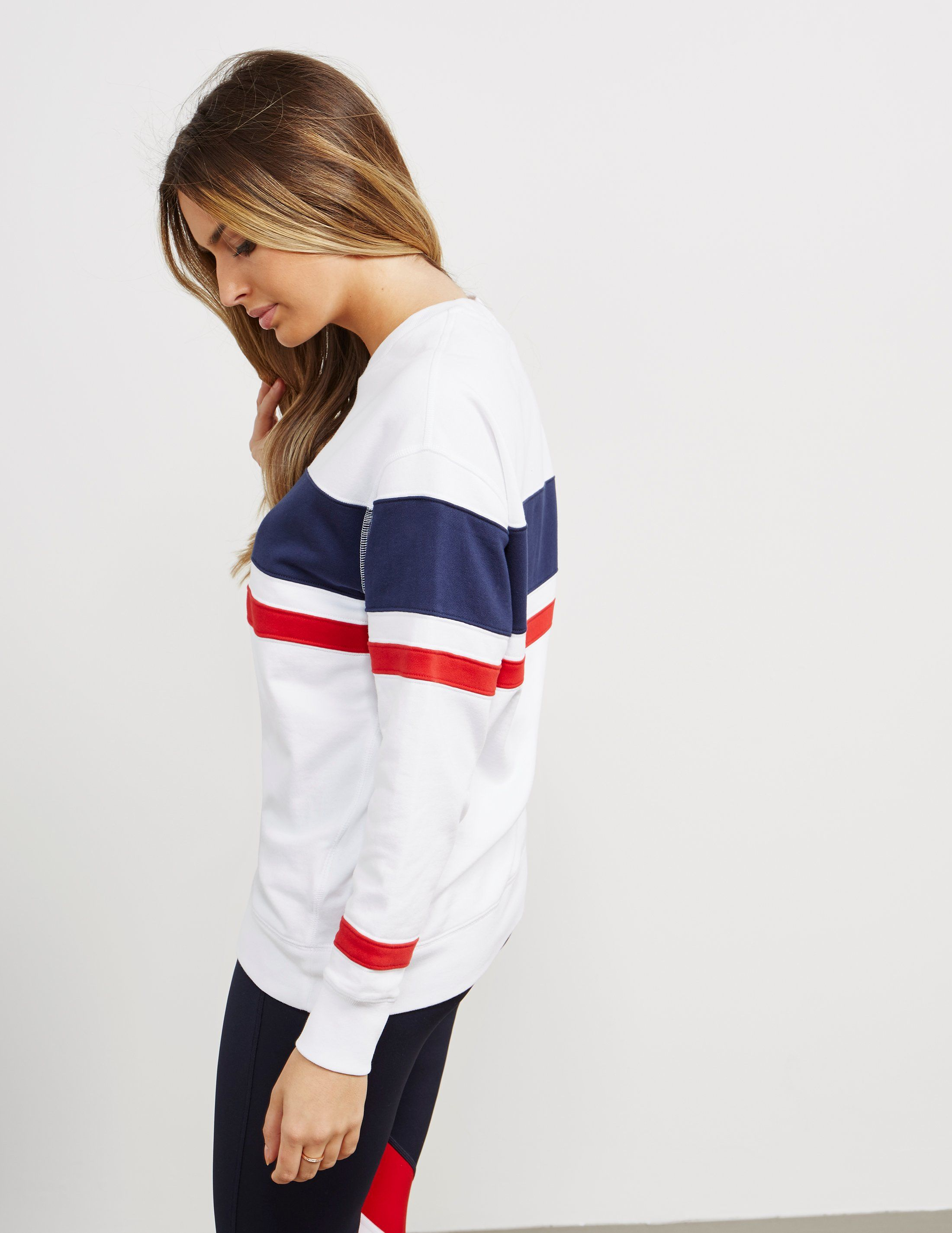 Polo Ralph Lauren CP-93 Sail Stripe Sweatshirt