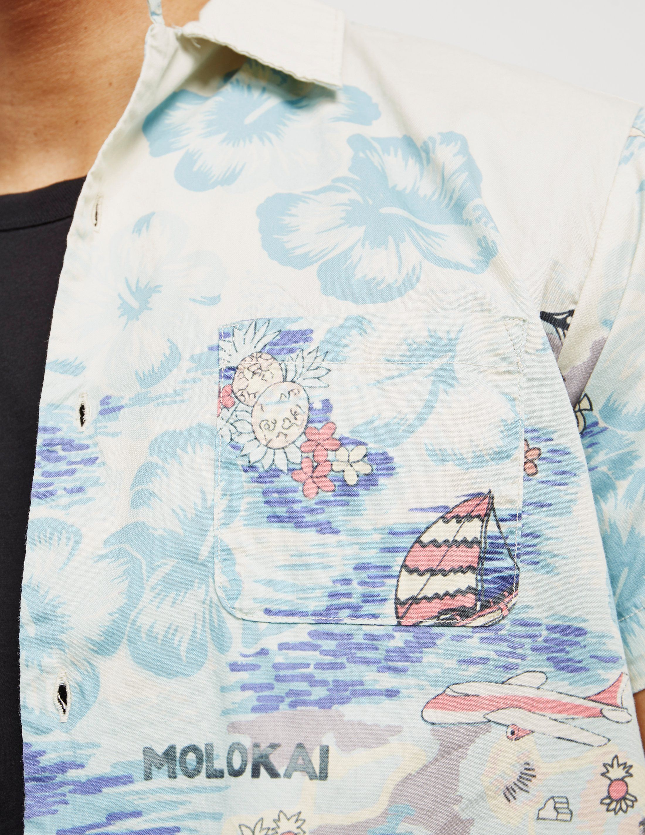 Replay Hawaiian Short Sleeve Shirt - Online Exclusive