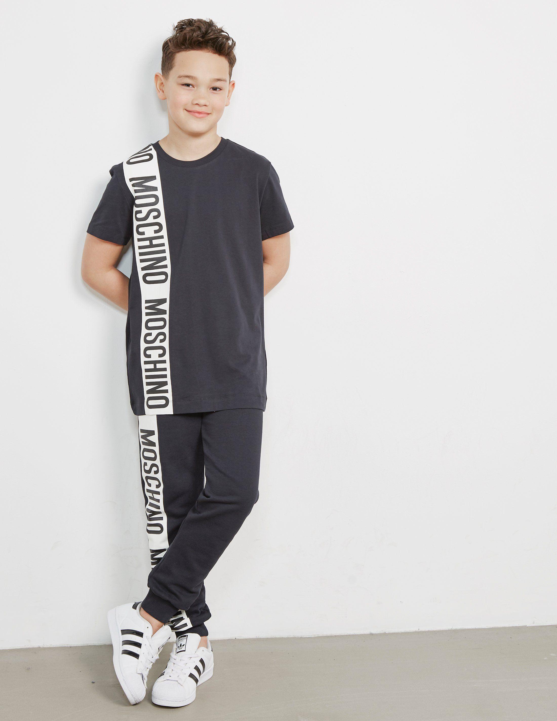 Moschino Stripe Short Sleeve T-Shirt