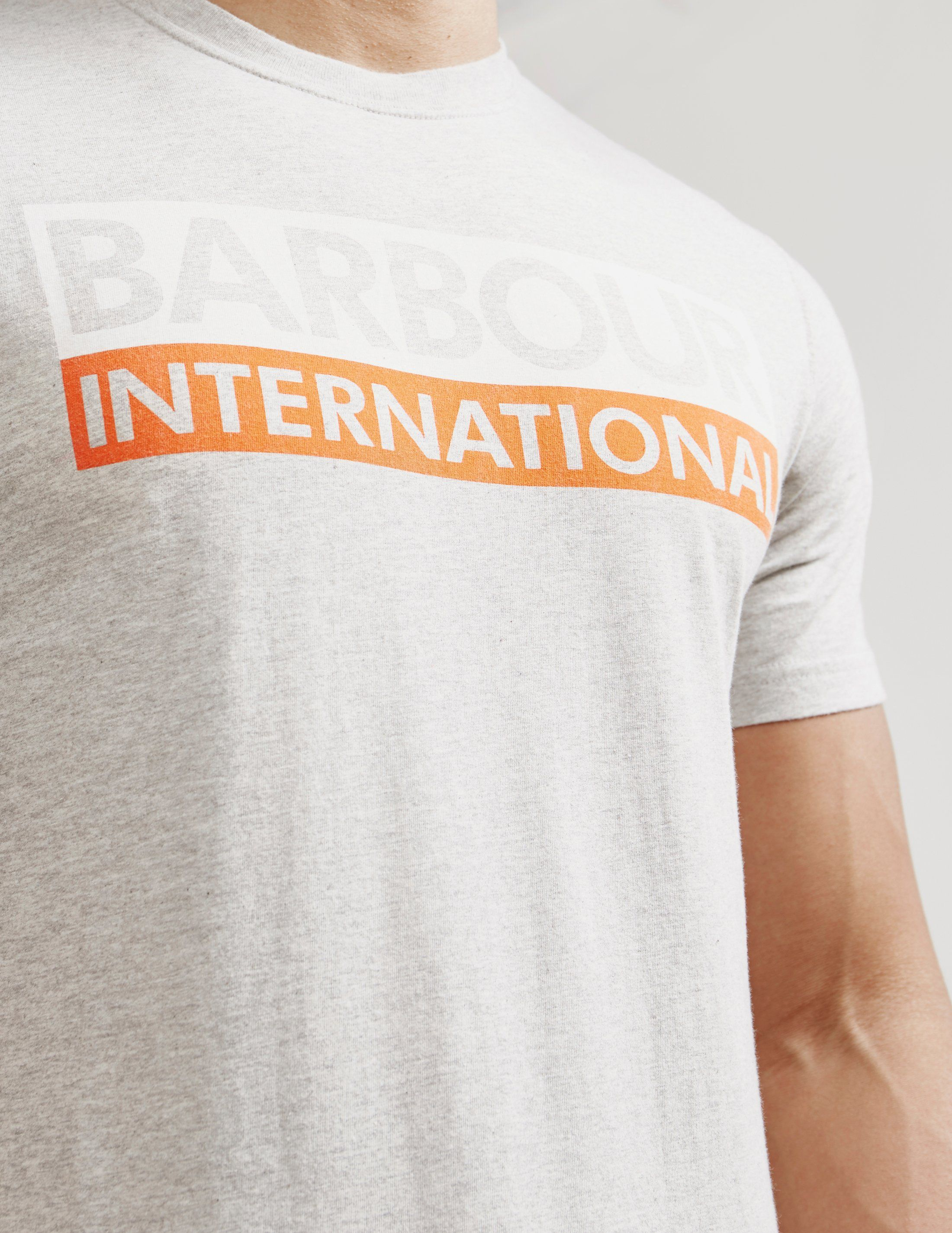 Barbour International Split Logo Short Sleeve T-Shirt