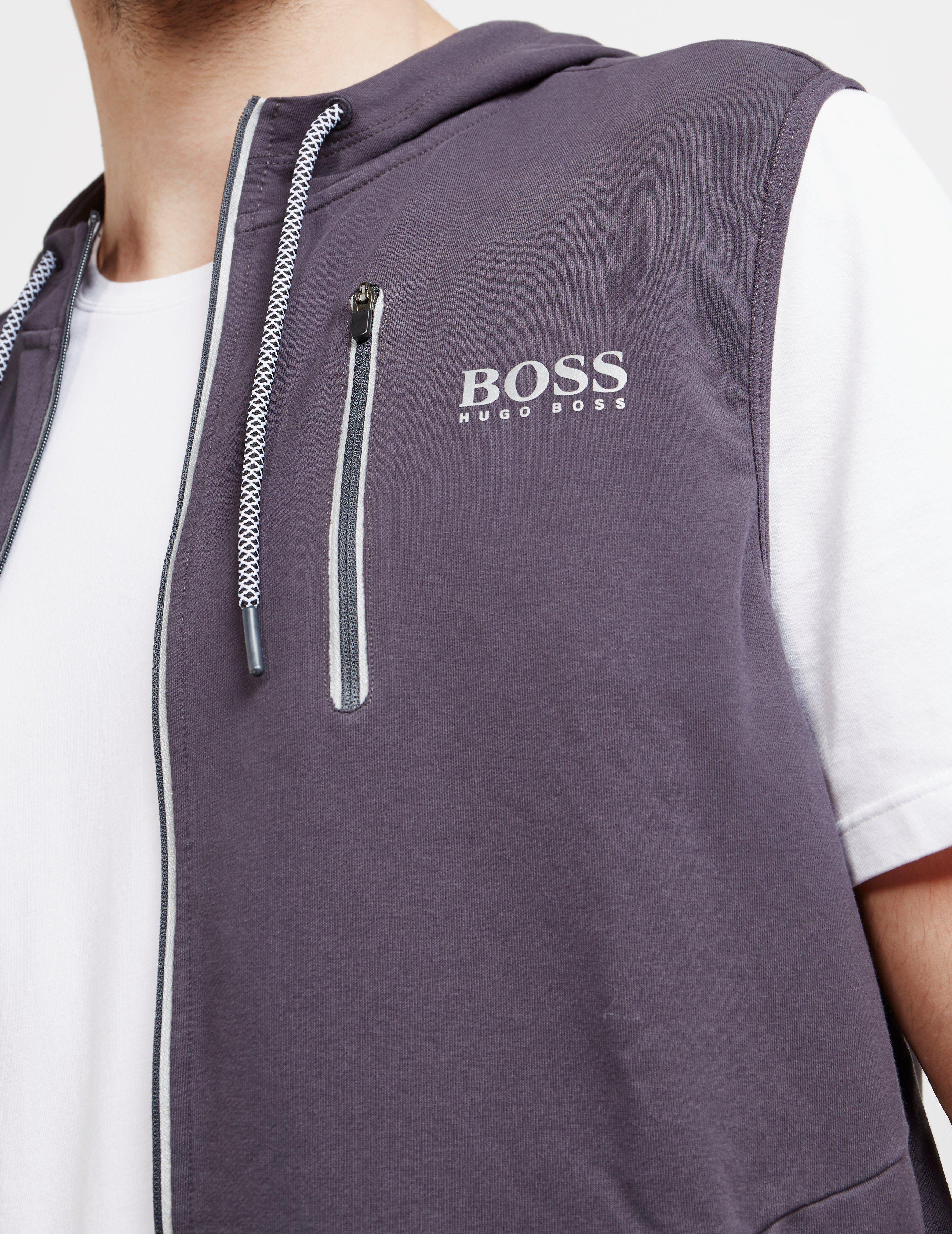 BOSS Poly Vest Hoodie