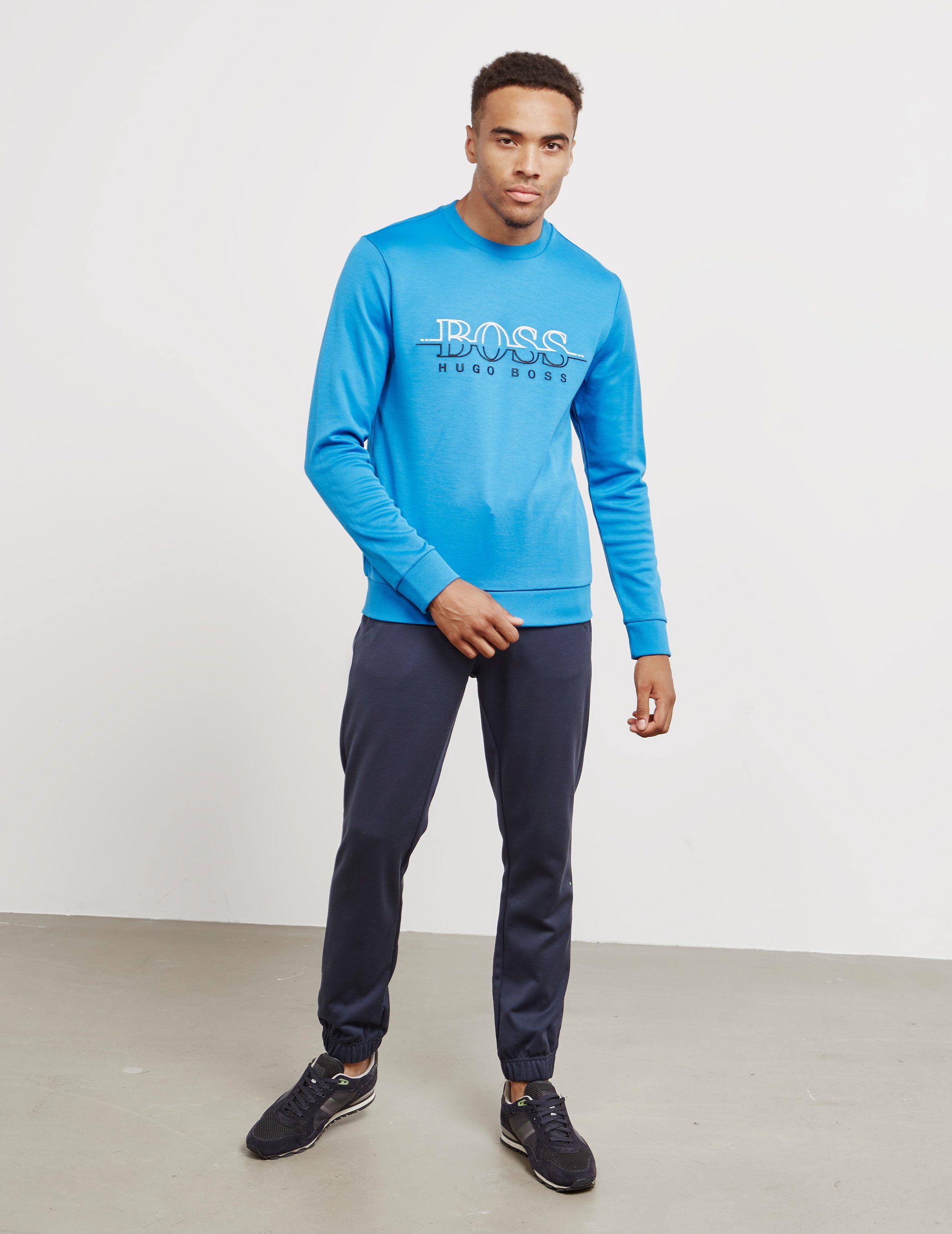 BOSS Salbo Crew Neck Sweatshirt