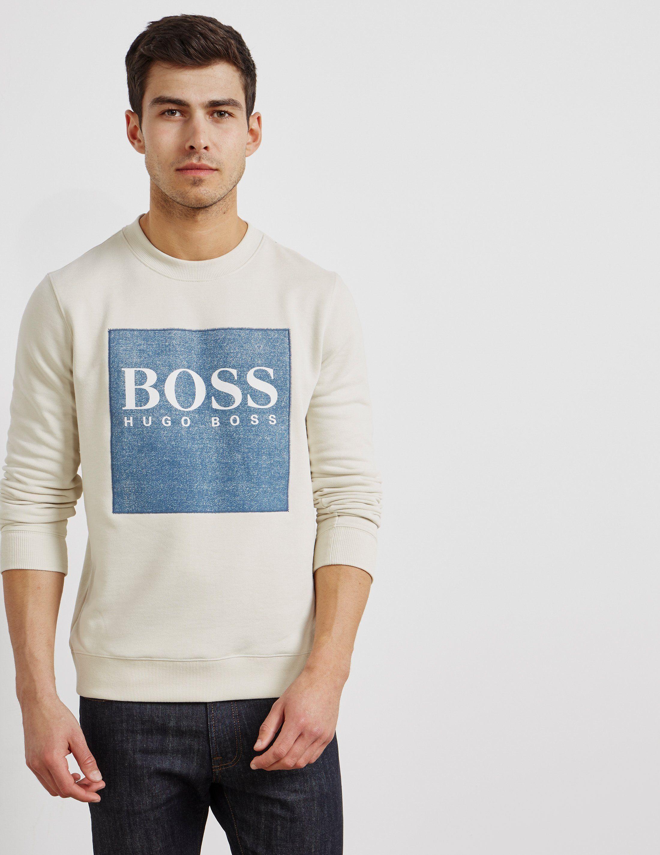 BOSS Wedford Square Logo Sweatshirt