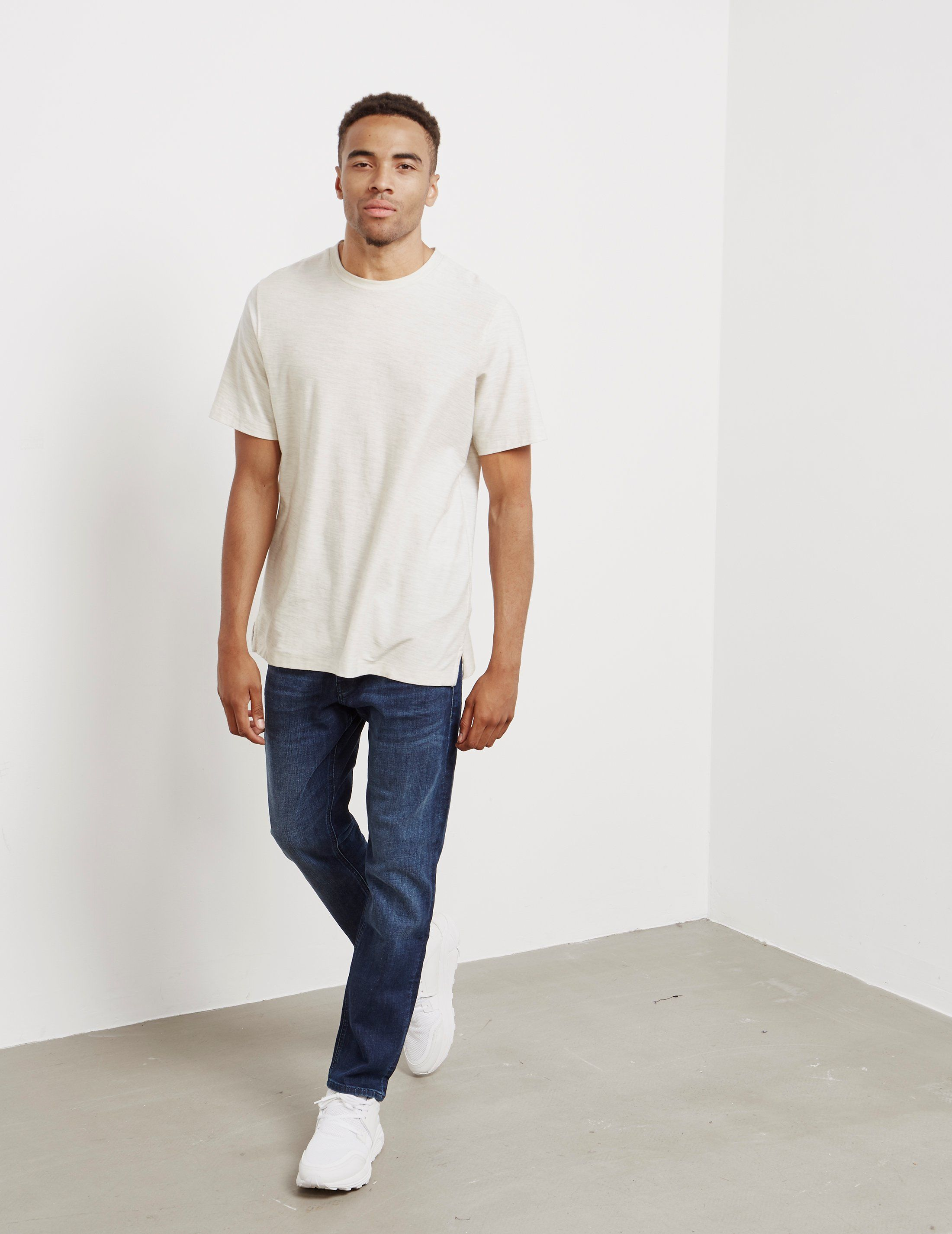 BOSS Taber Stretch Tapered Jeans