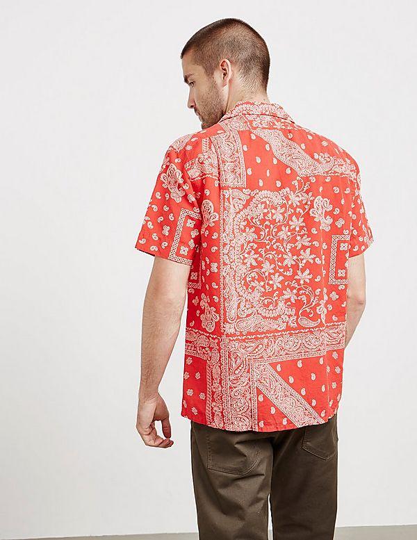 5d825ab0c official store ralph lauren red bandana shirt xl 95c56 9988b